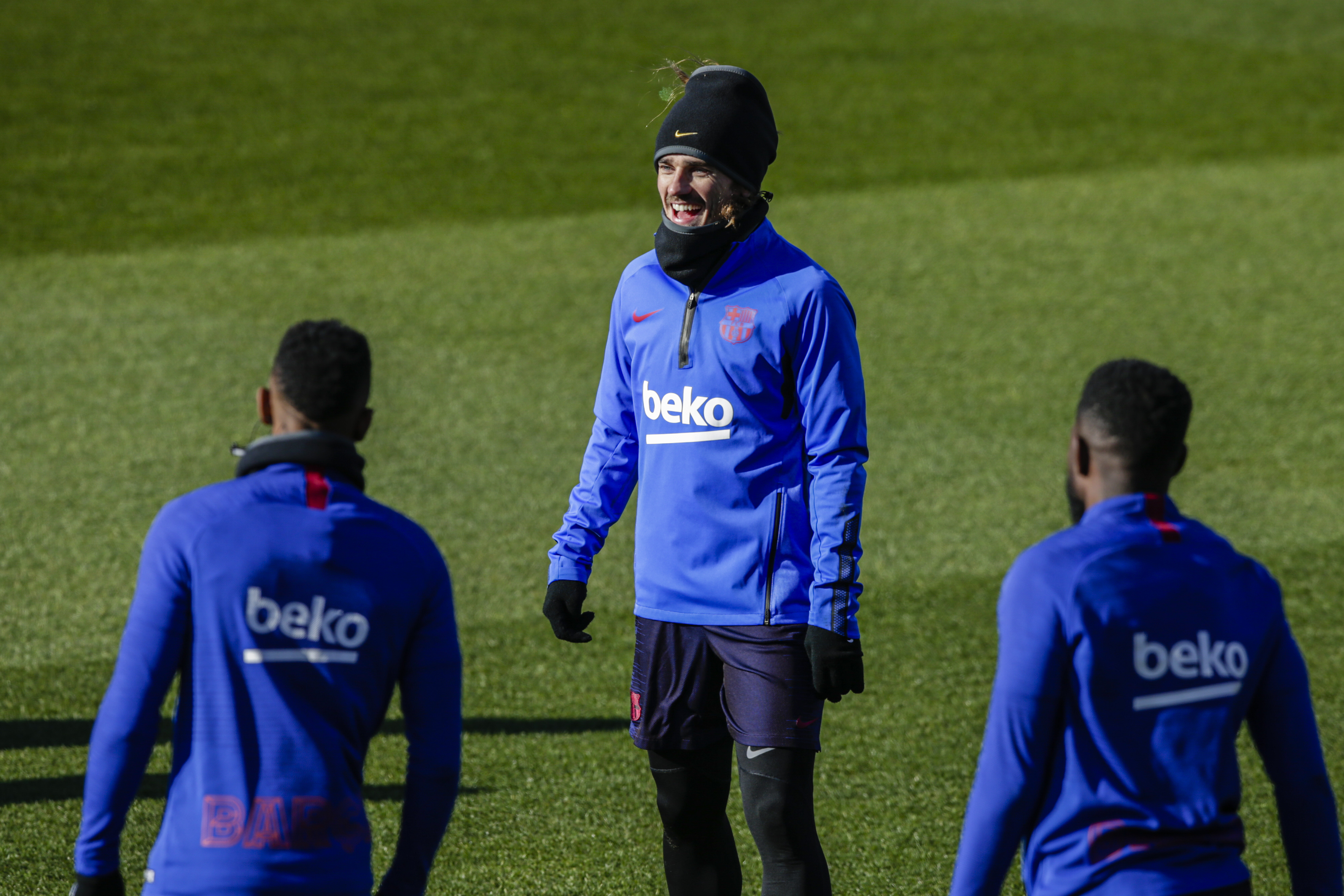 FC Barcelona Open Doors Training Session
