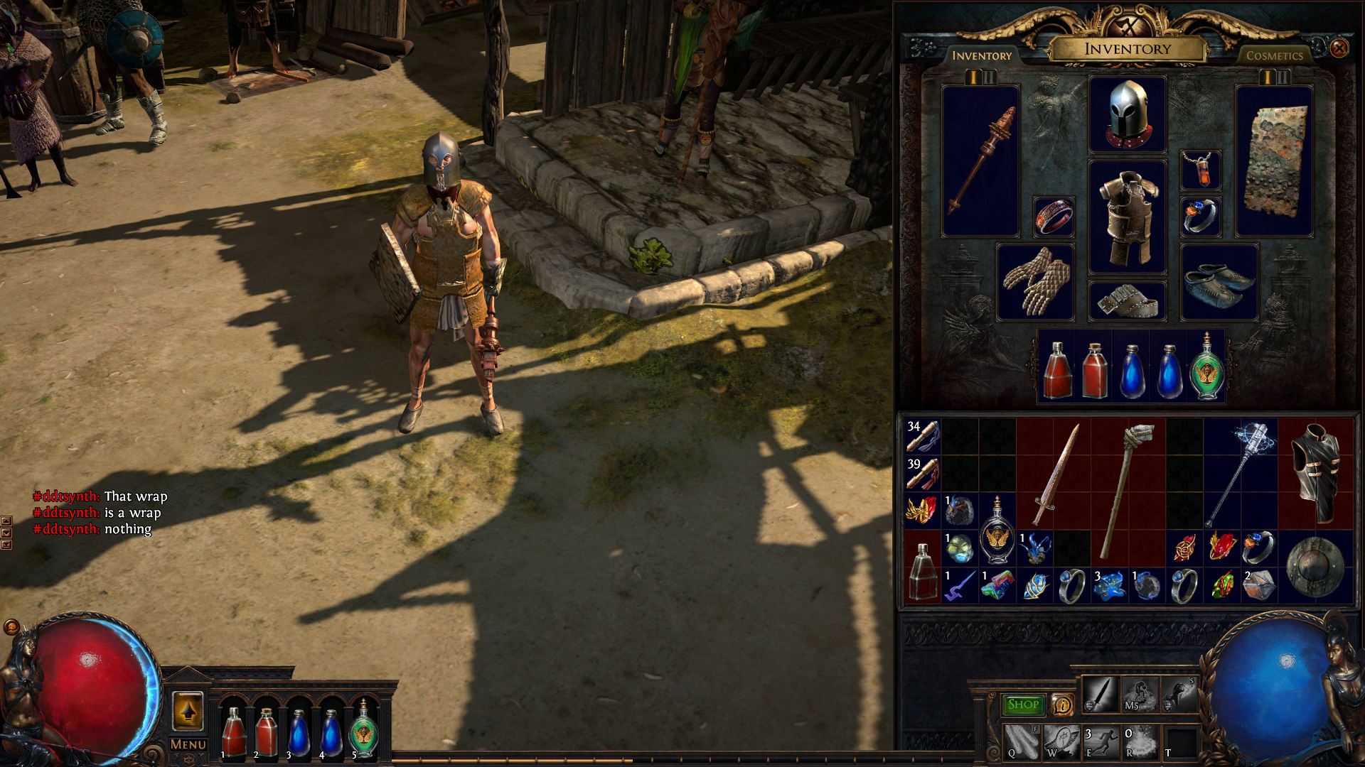 The Templar Path of Exile