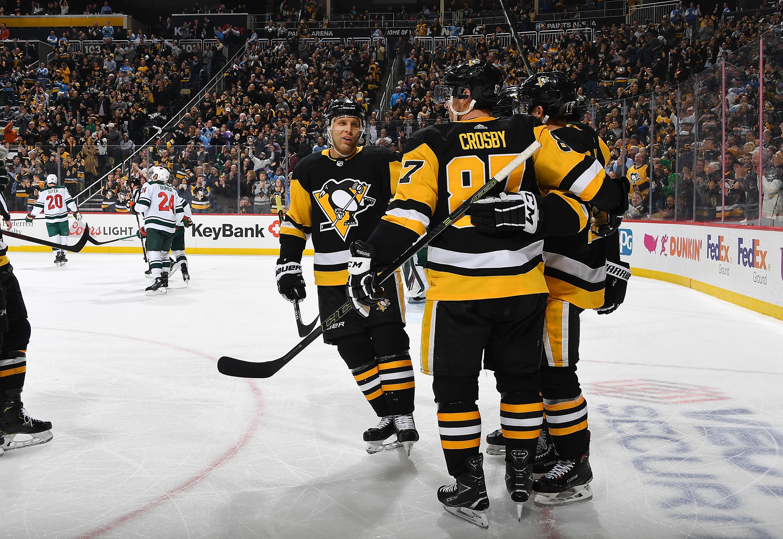 Minnesota Wild v Pittsburgh Penguins