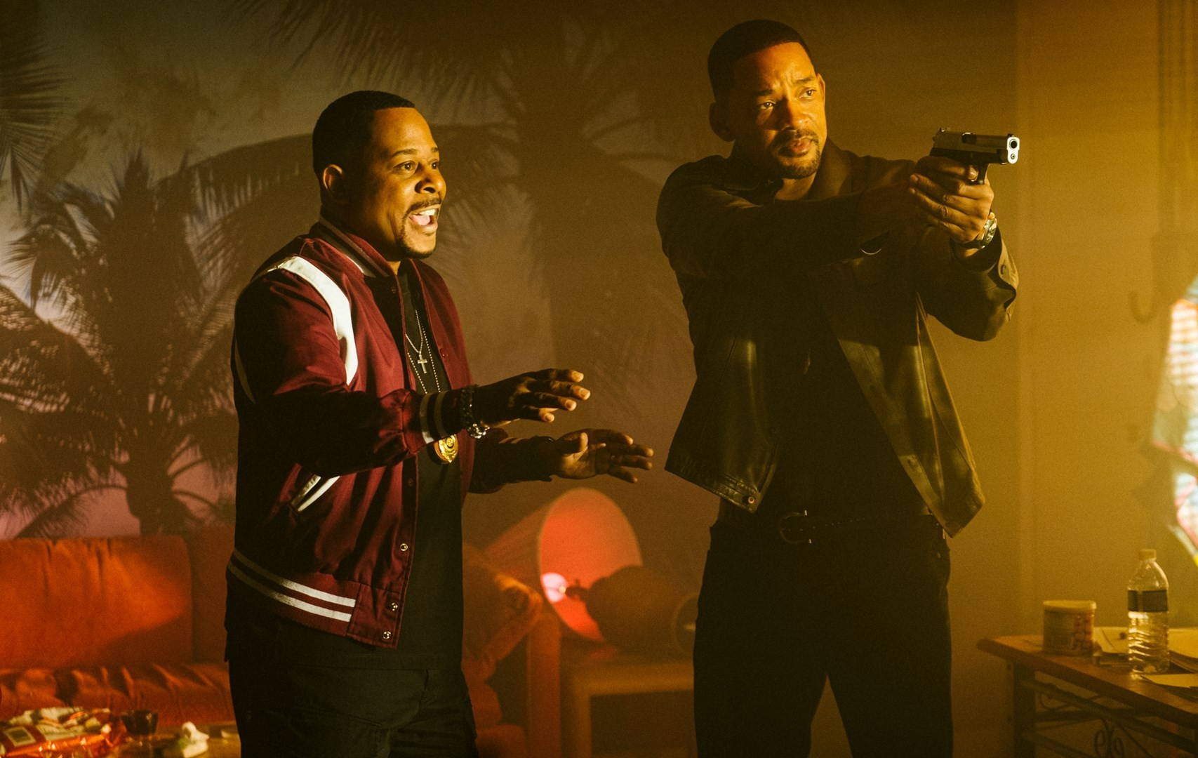 marcus (martin lawrence) yells at mike (will smith) not to shoot a guy in bad boys for life