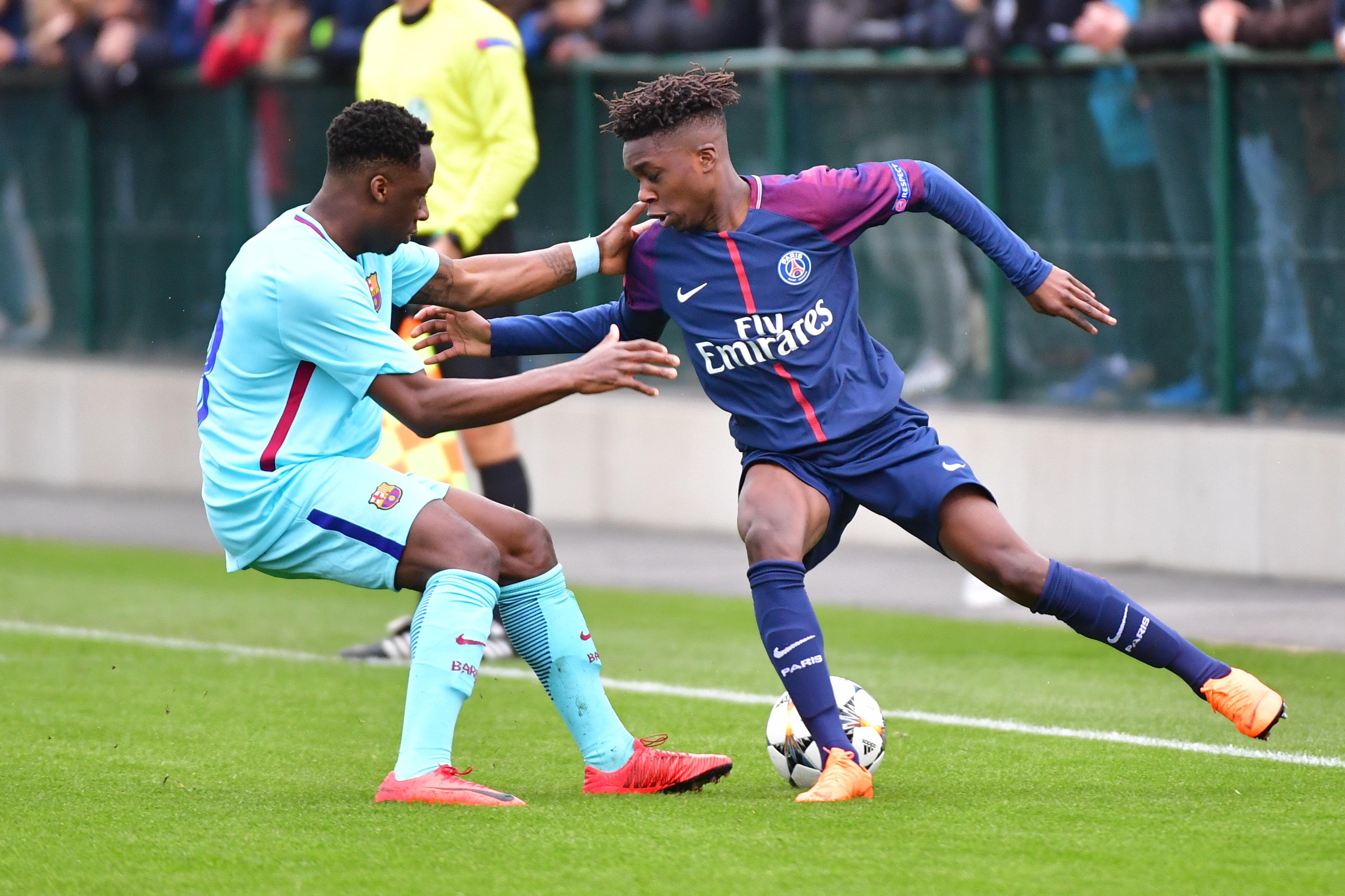 Paris Saint-Germain v FC Barcelona - Youth League U19
