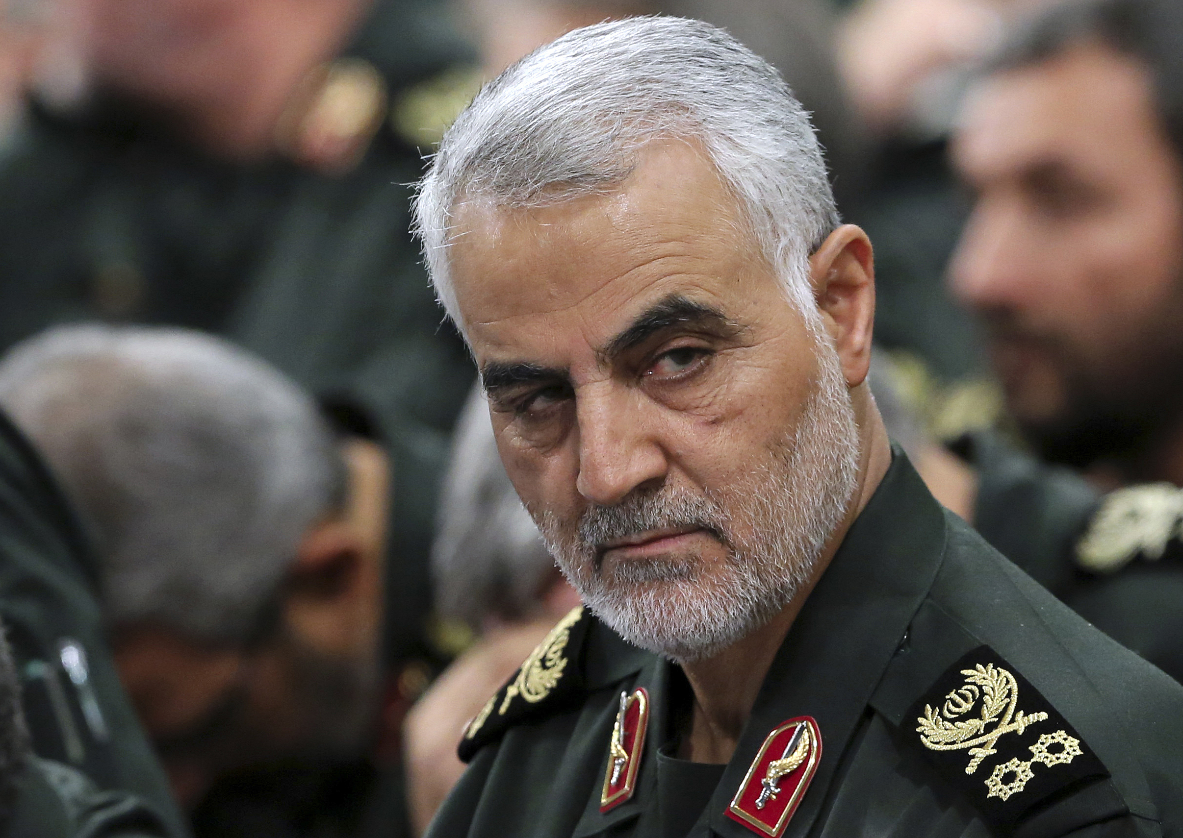 Iranian Revolutionary Guard Gen. Qassem Soleimani, who was killed by a U.S. airstrike near Baghdad's airport on Jan. 3, 2020.