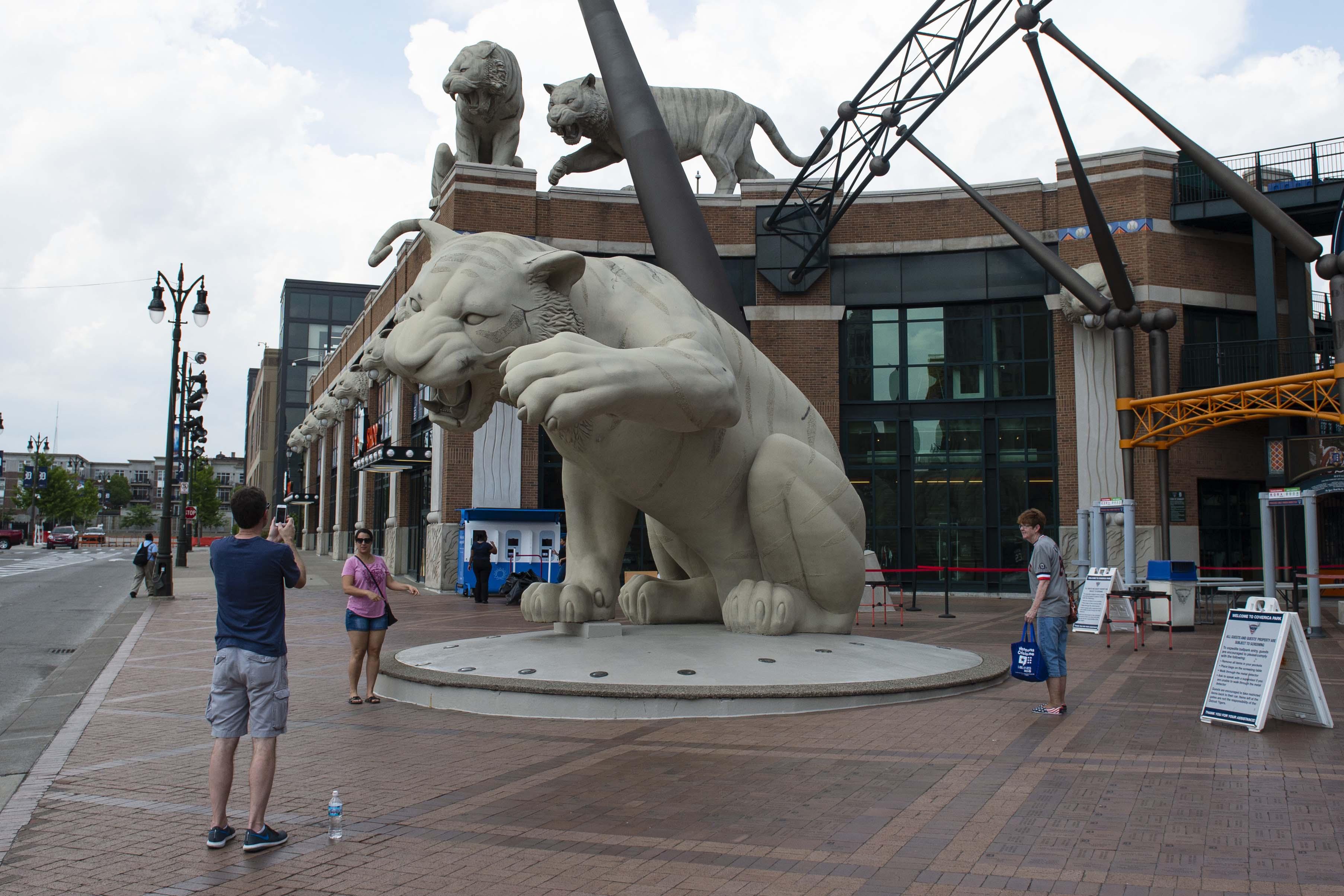 MLB: Washington Nationals at Detroit Tigers