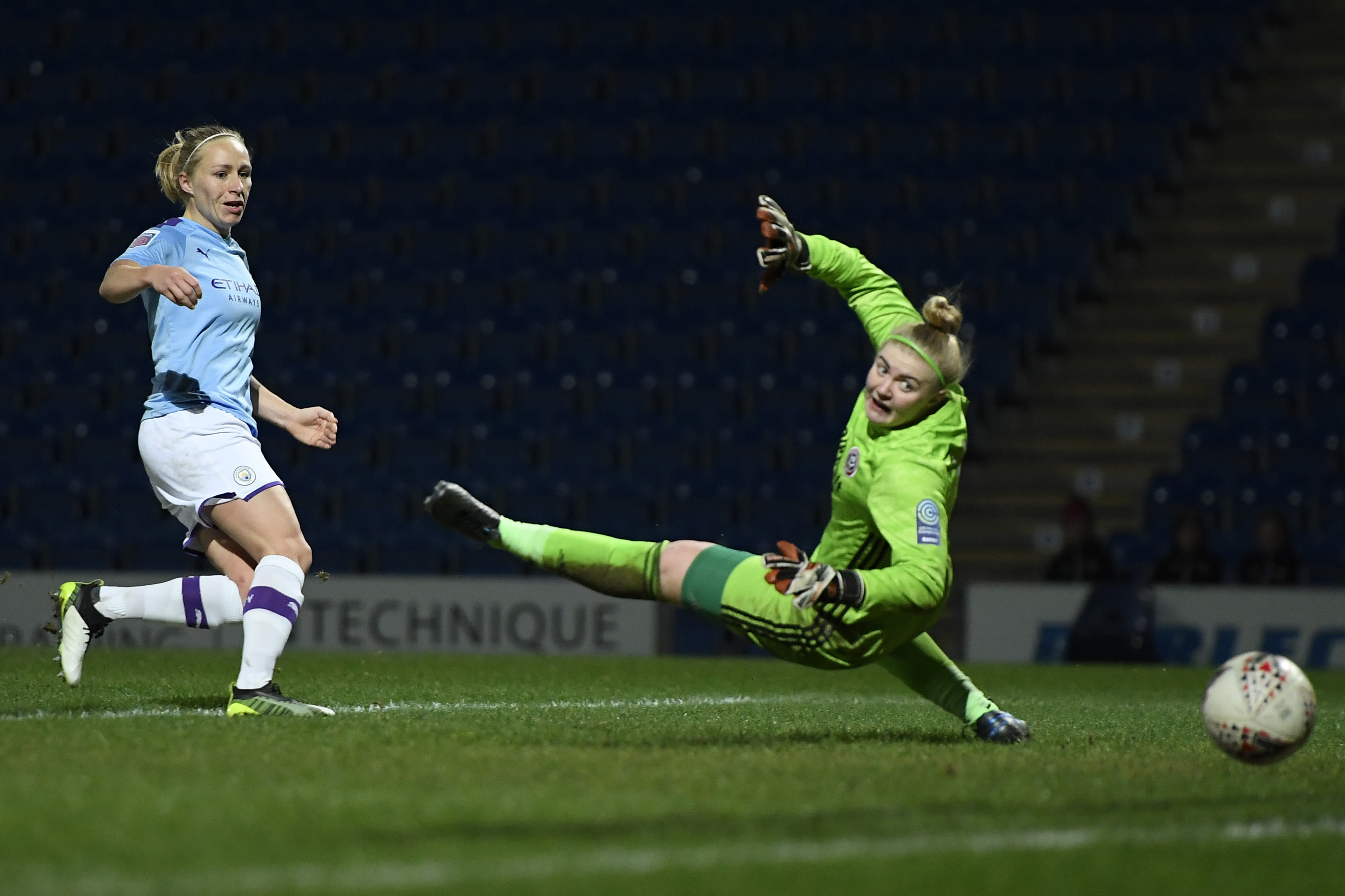 Sheffield United Women v Manchester City Women - FA Women's Continental League Cup: Quarter-Final