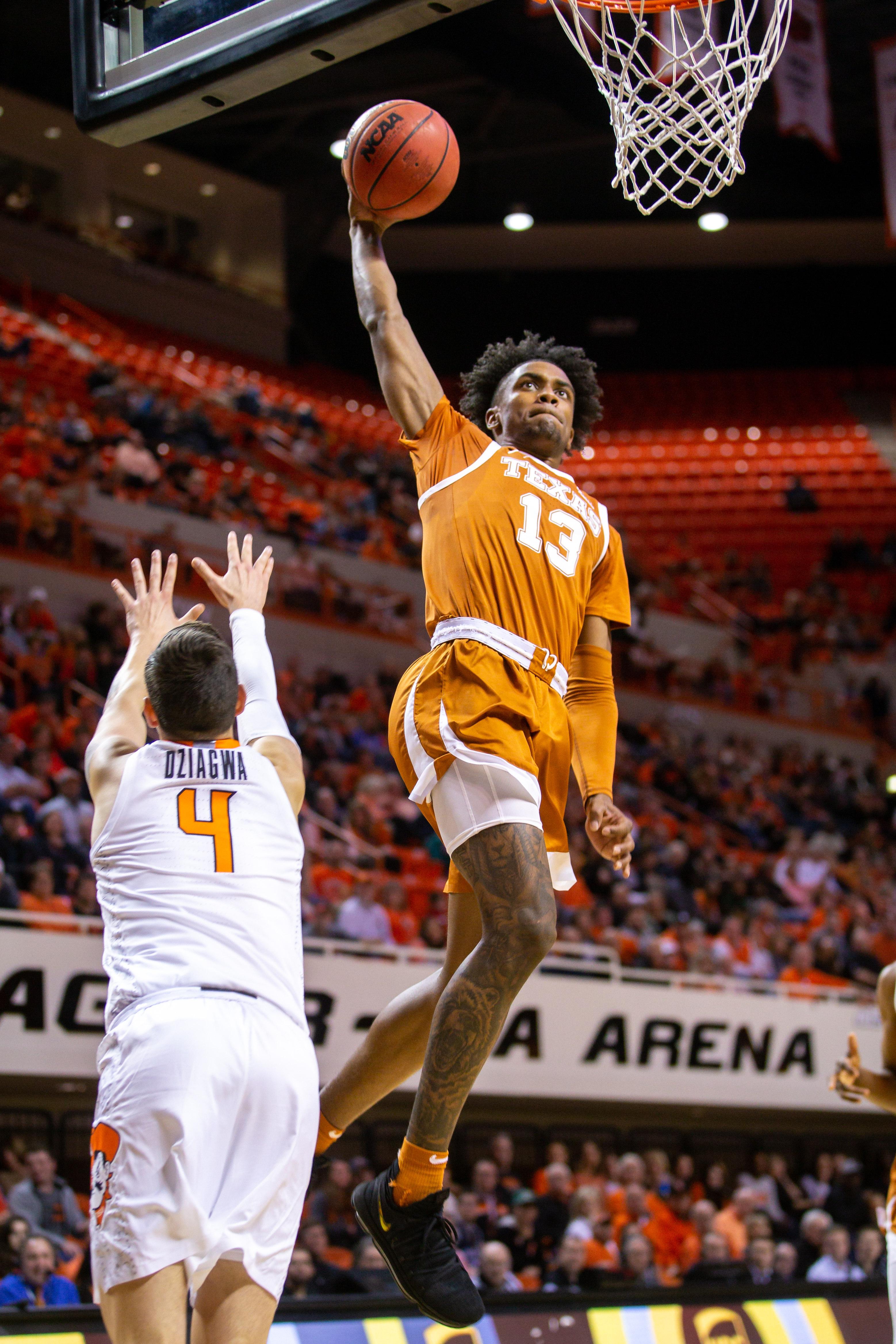 COLLEGE BASKETBALL: JAN 15 Texas at Oklahoma State
