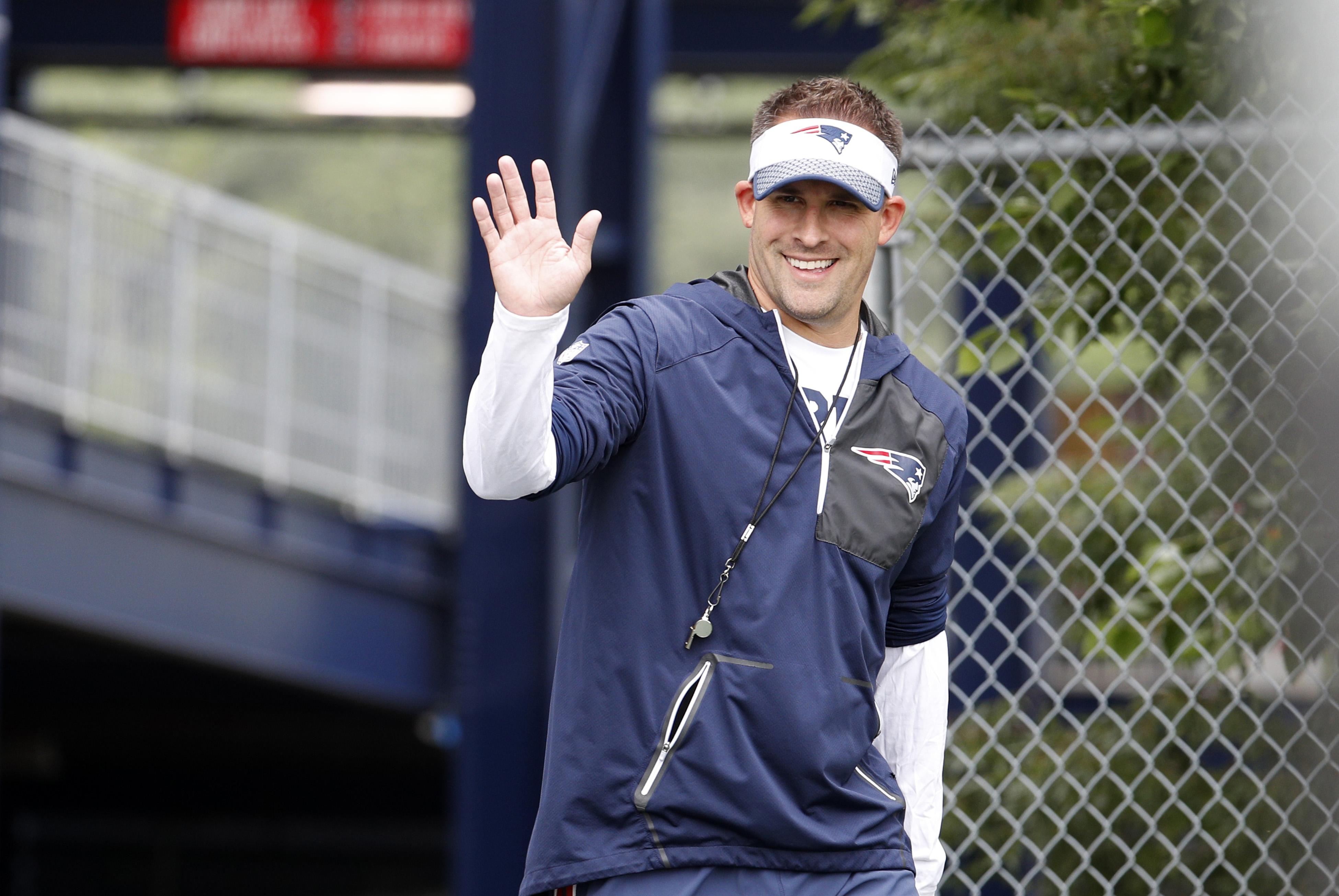 NFL: JUL 29 Patriots Training Camp