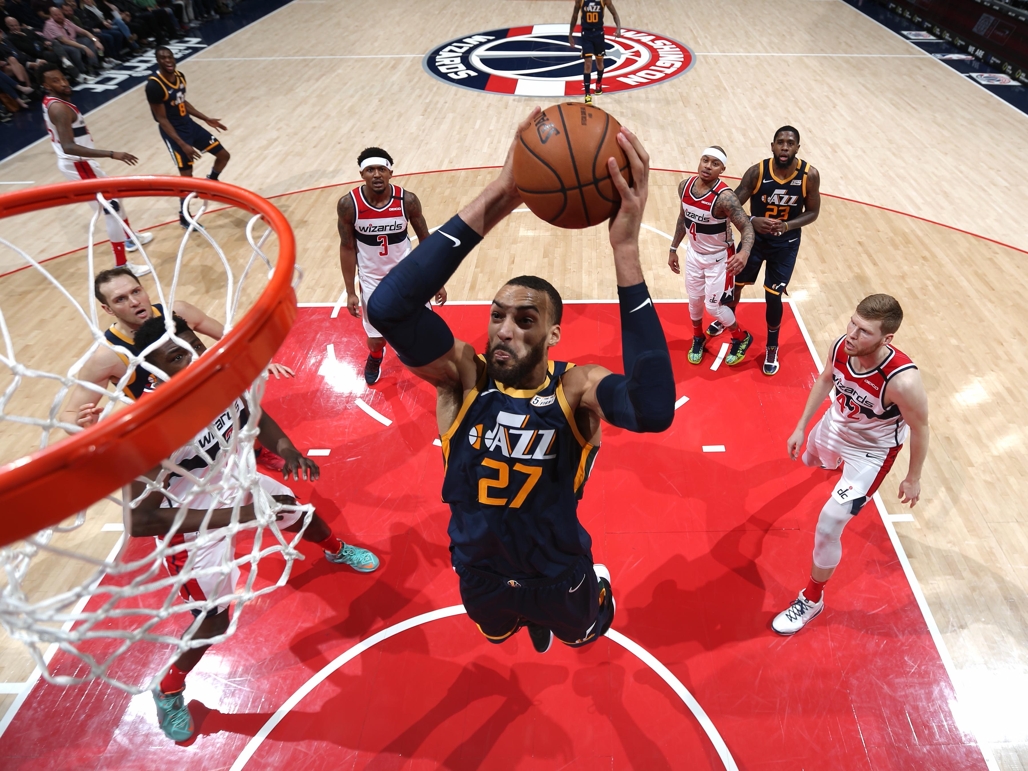 Utah Jazz v Washington Wizards