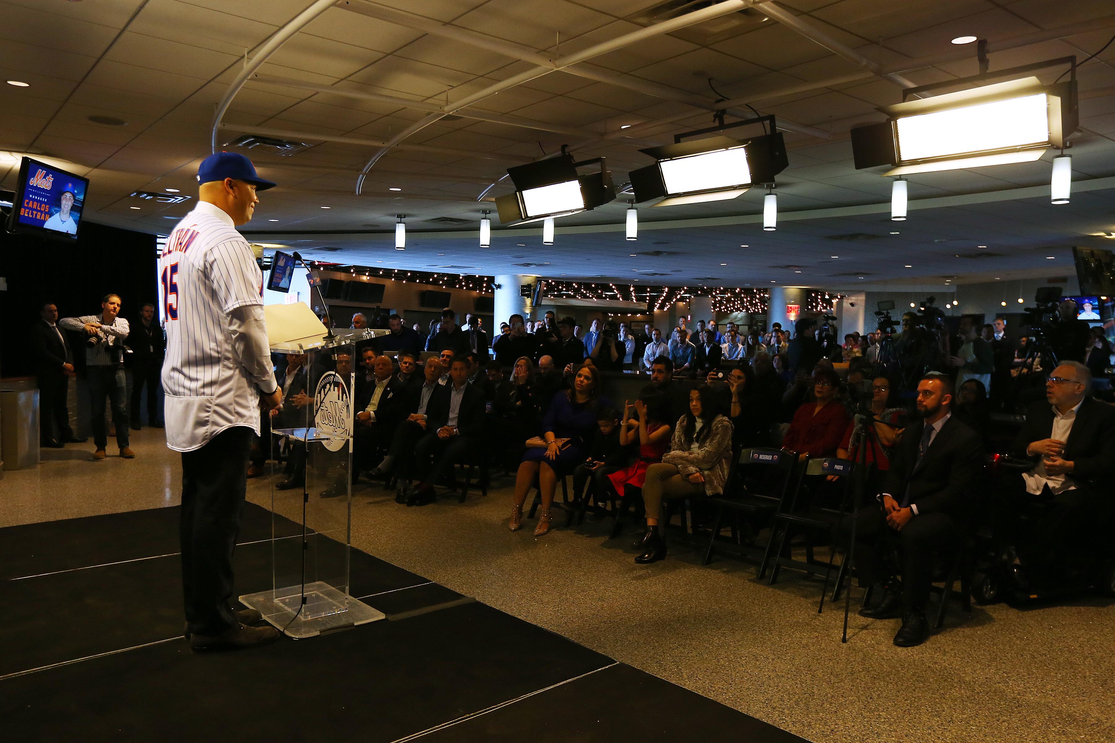 New York Mets Introduce Carlos Beltran - Press Conference