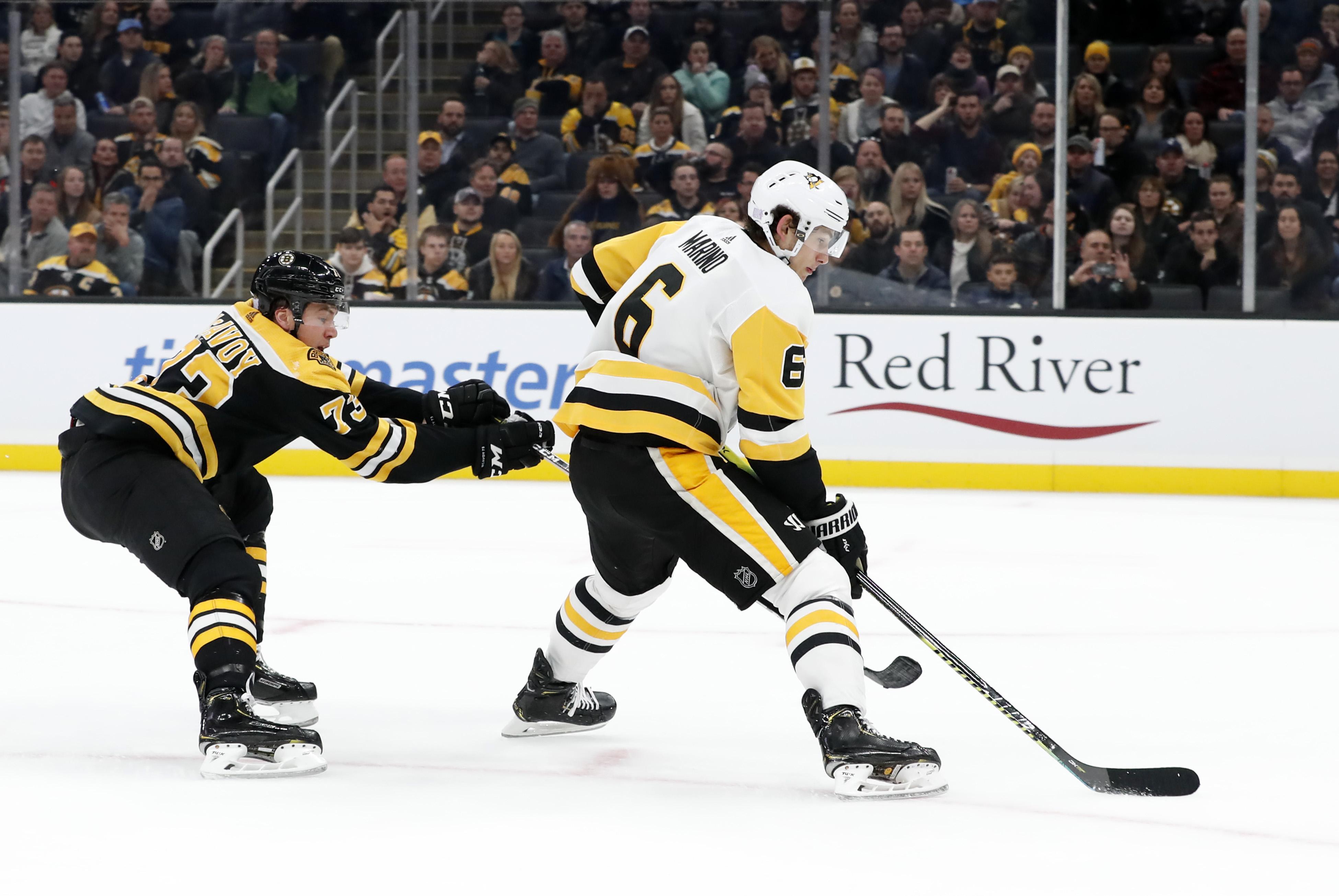 NHL: NOV 04 Penguins at Bruins
