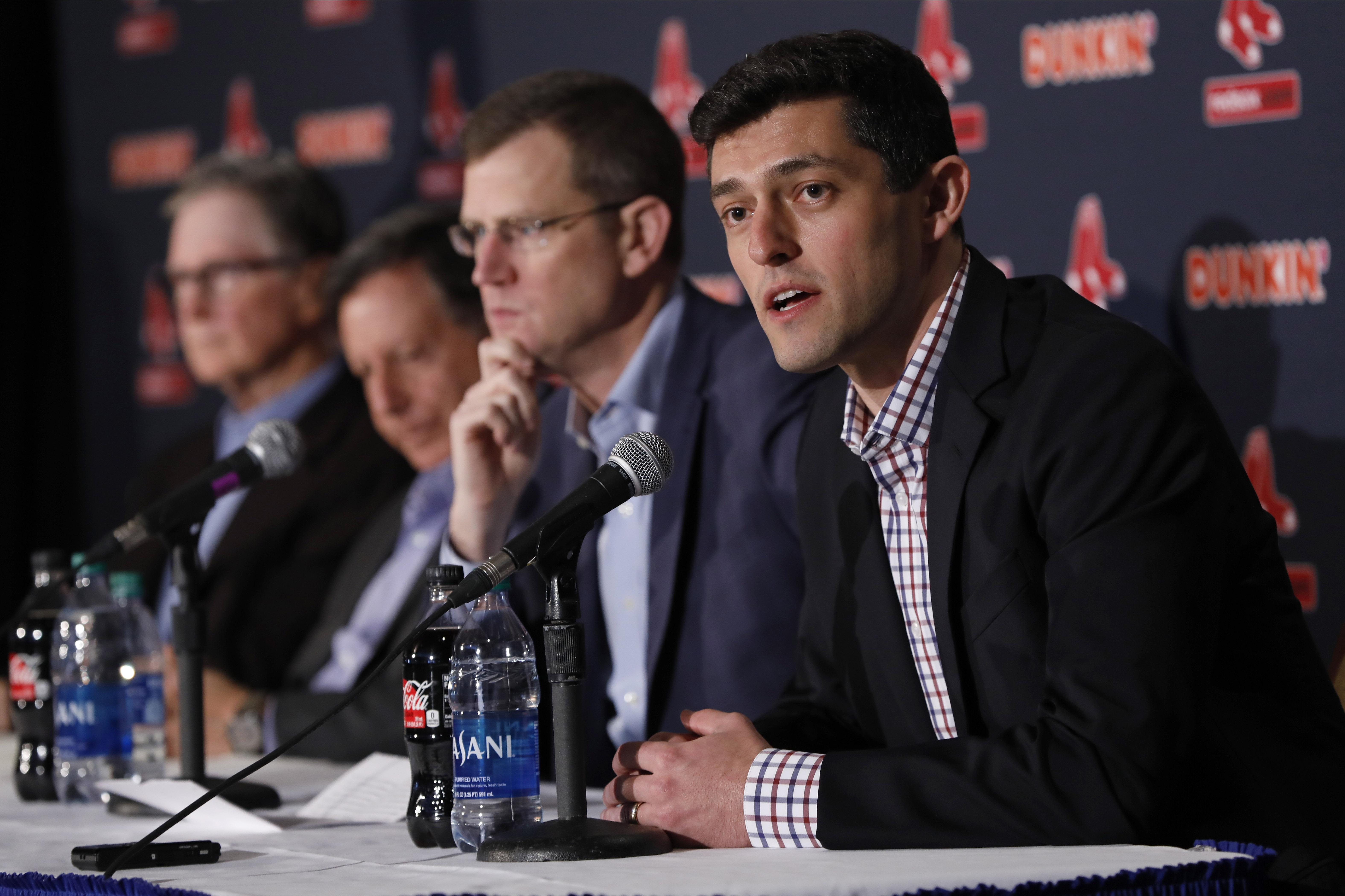 MLB: Boston Red Sox-Press Conference