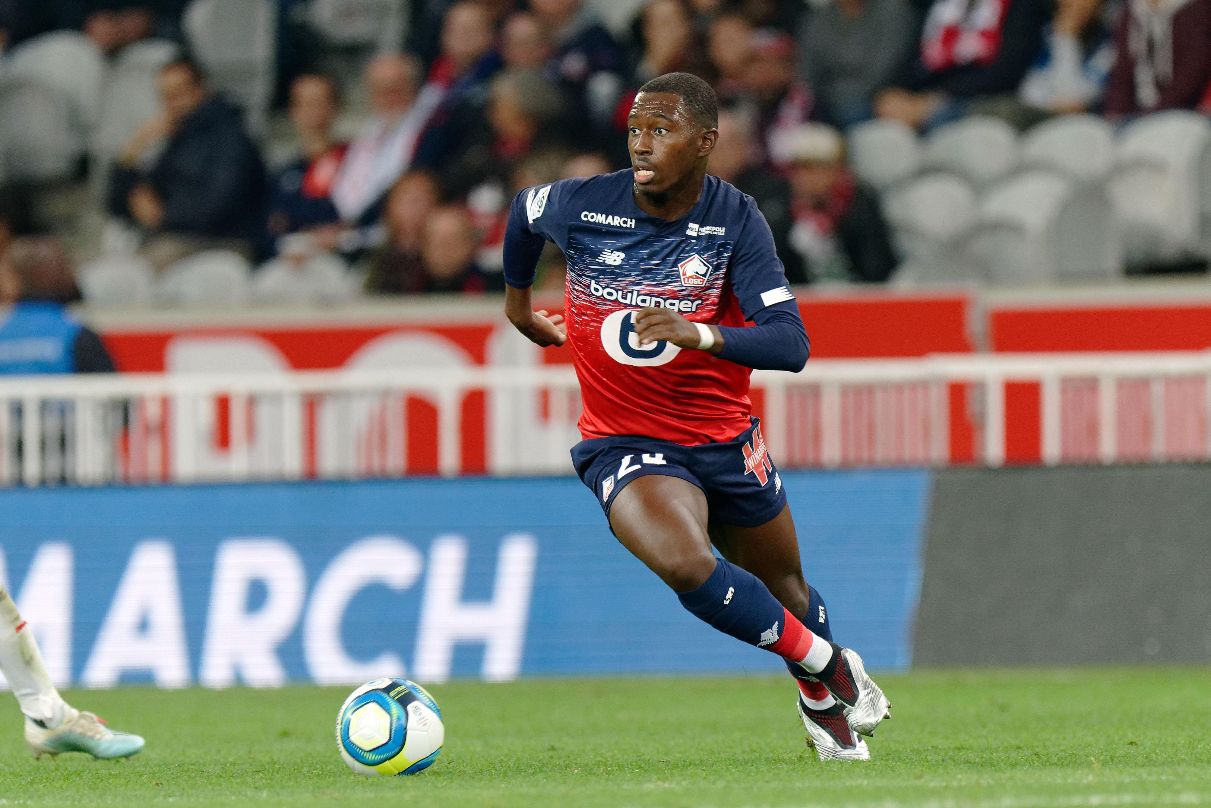 Chelsea, Manchester United 'battle' over Lille's Boubakary Soumaré — report