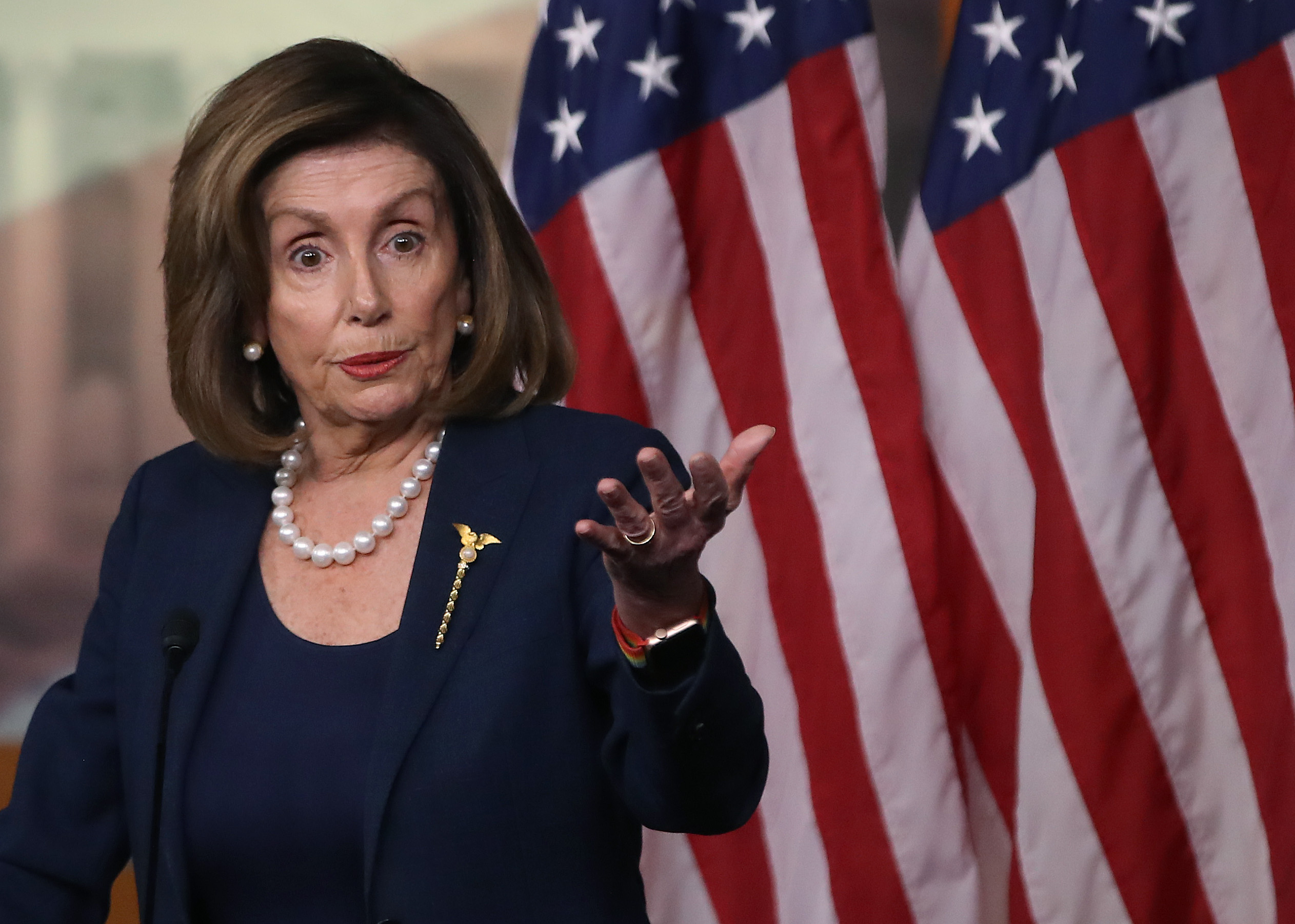 Speaker Nancy Pelosi Holds Weekly Press Conference