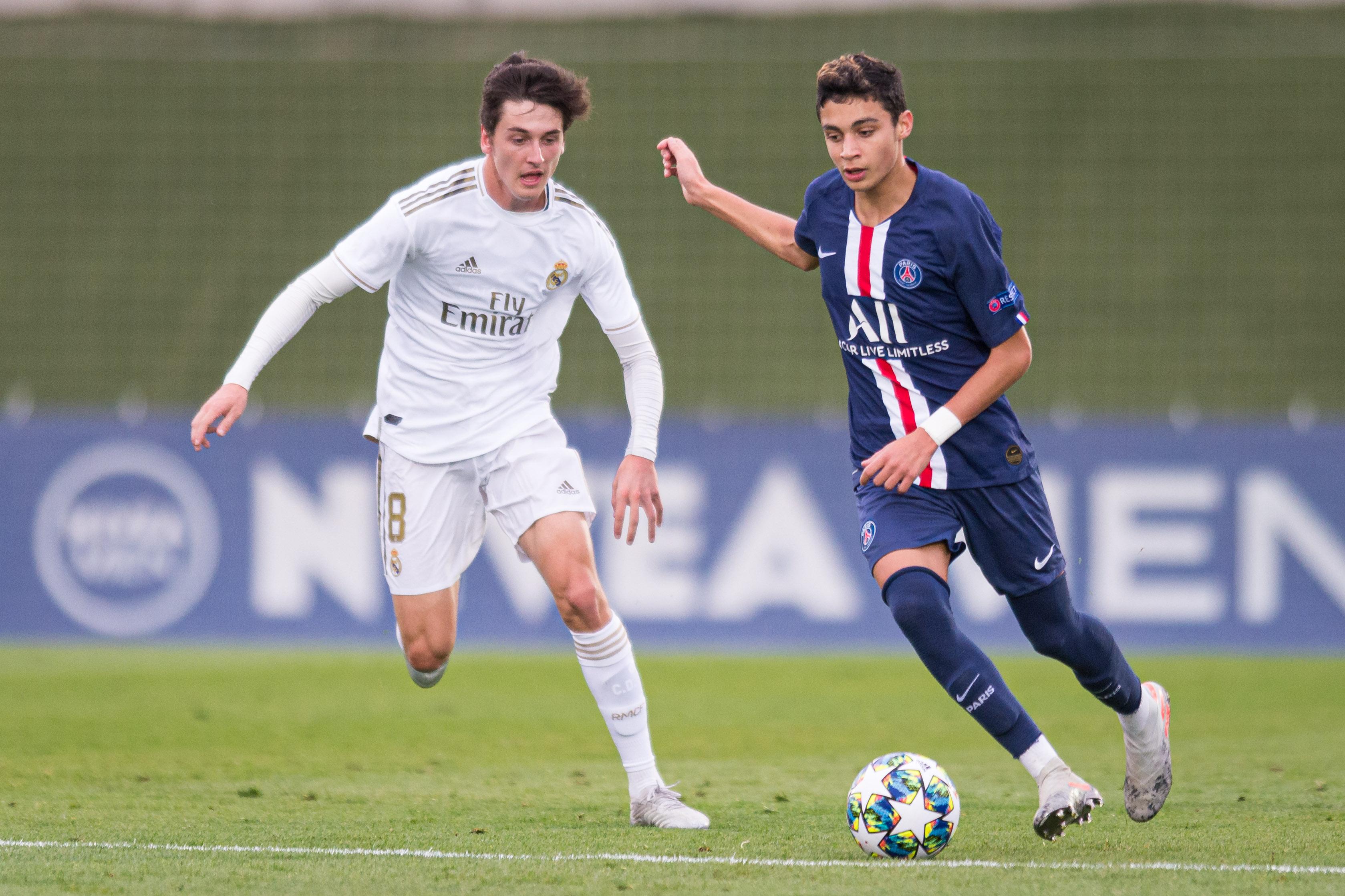 Real Madrid v Paris Saint-Germain - UEFA Youth League