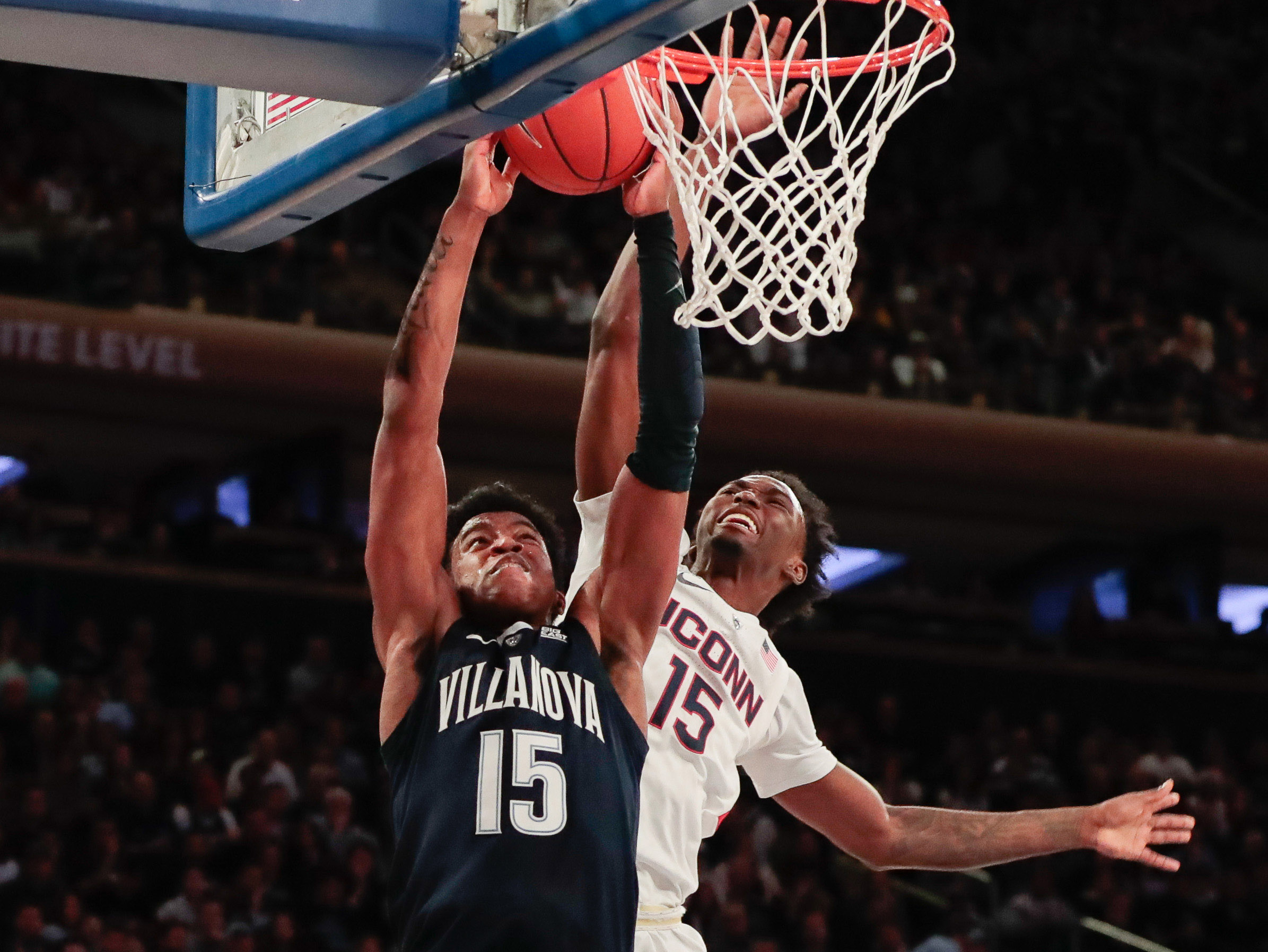 NCAA Basketball: Connecticut at Villanova