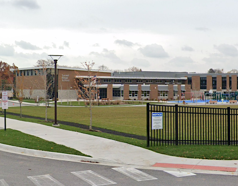A camera was found Jan. 14, 2020, inside a restroom at Sunset Ridge School, 525 Sunset Ridge Rd., in Northfield.