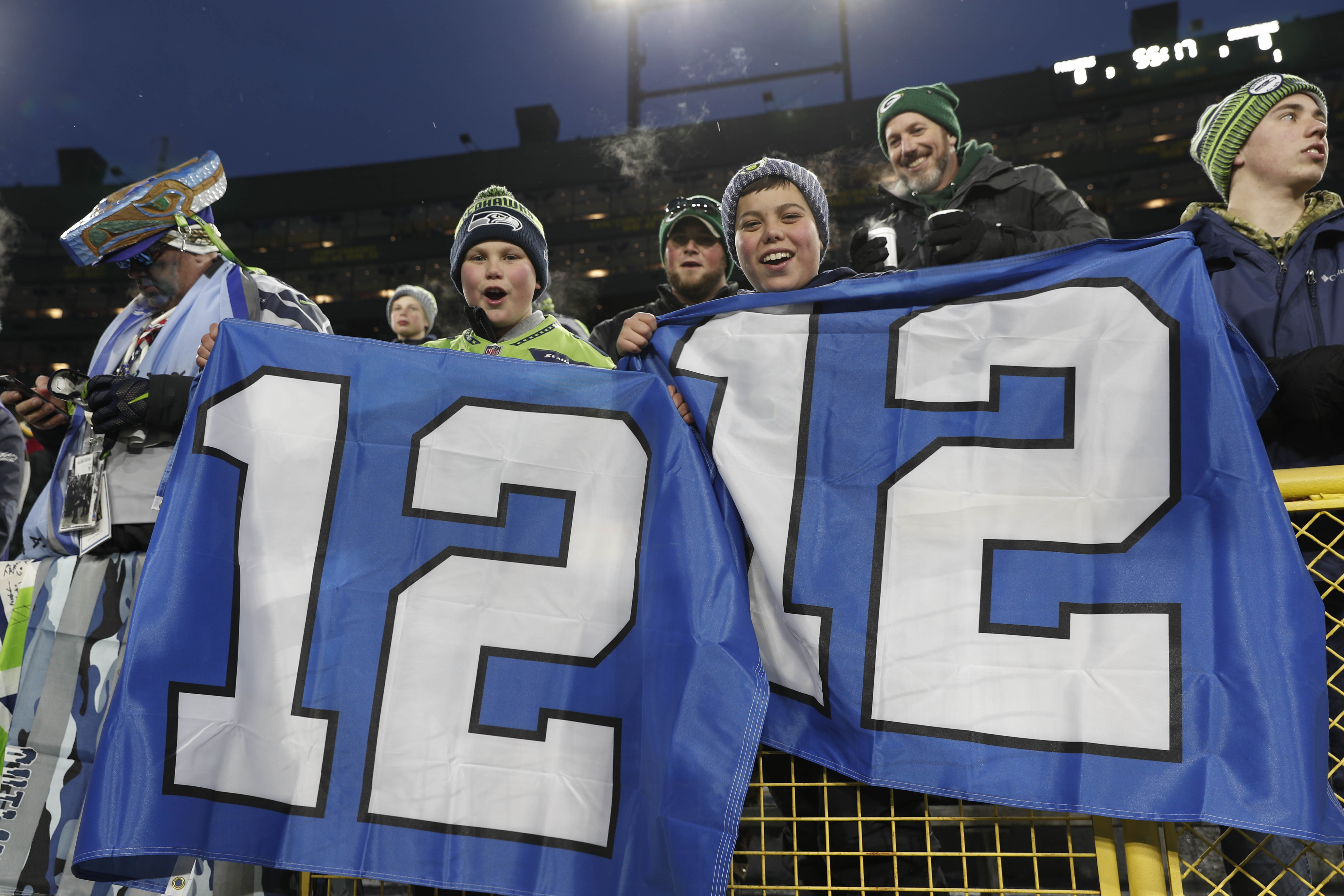 NFL: NFC Divisional Round-Seattle Seahawks At Green Bay Packers