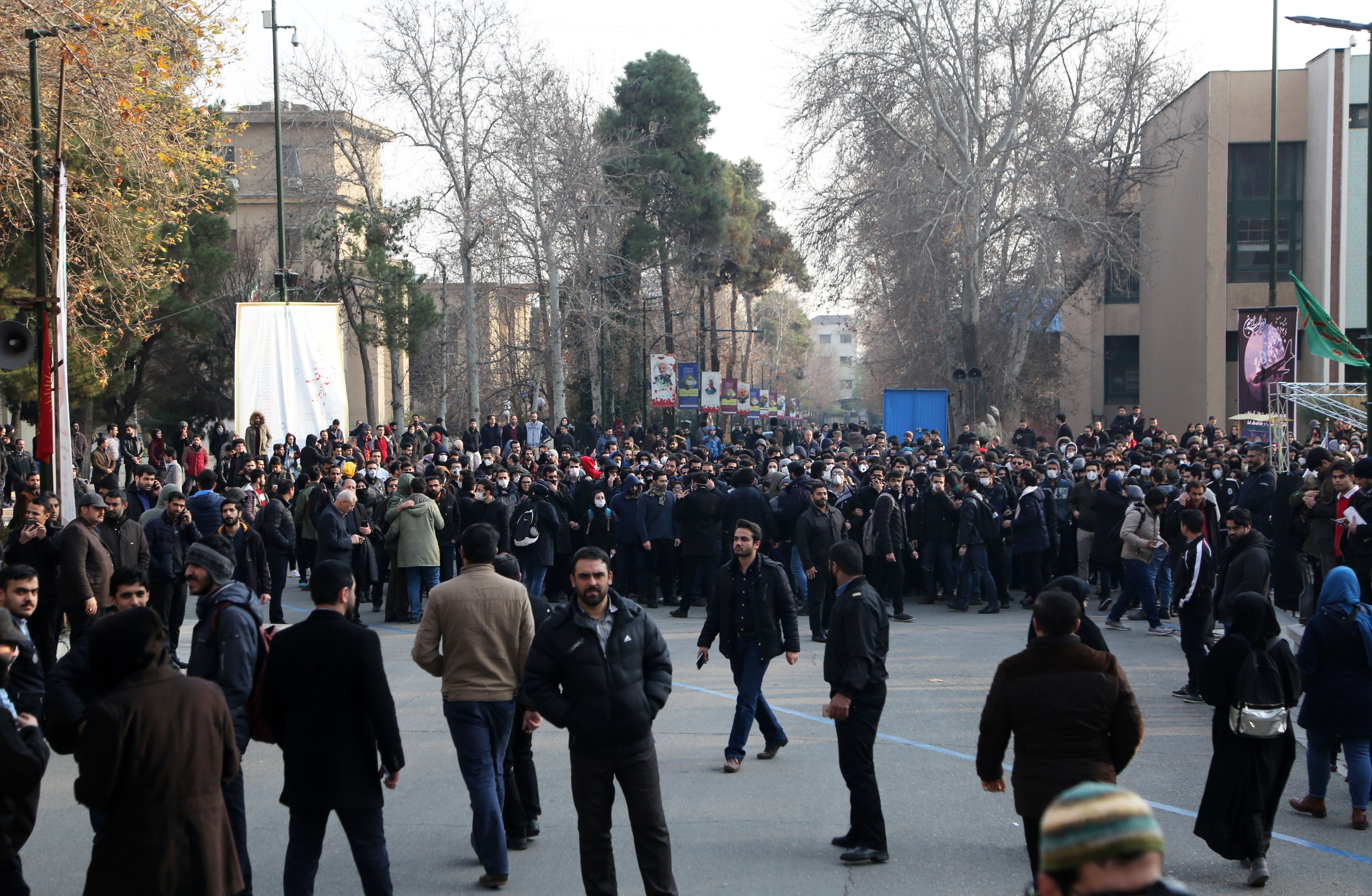 How thousands of Iranians went from mourning a general to protesting the regime, in a week