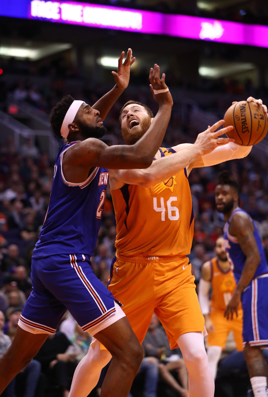 NBA: New York Knicks at Phoenix Suns