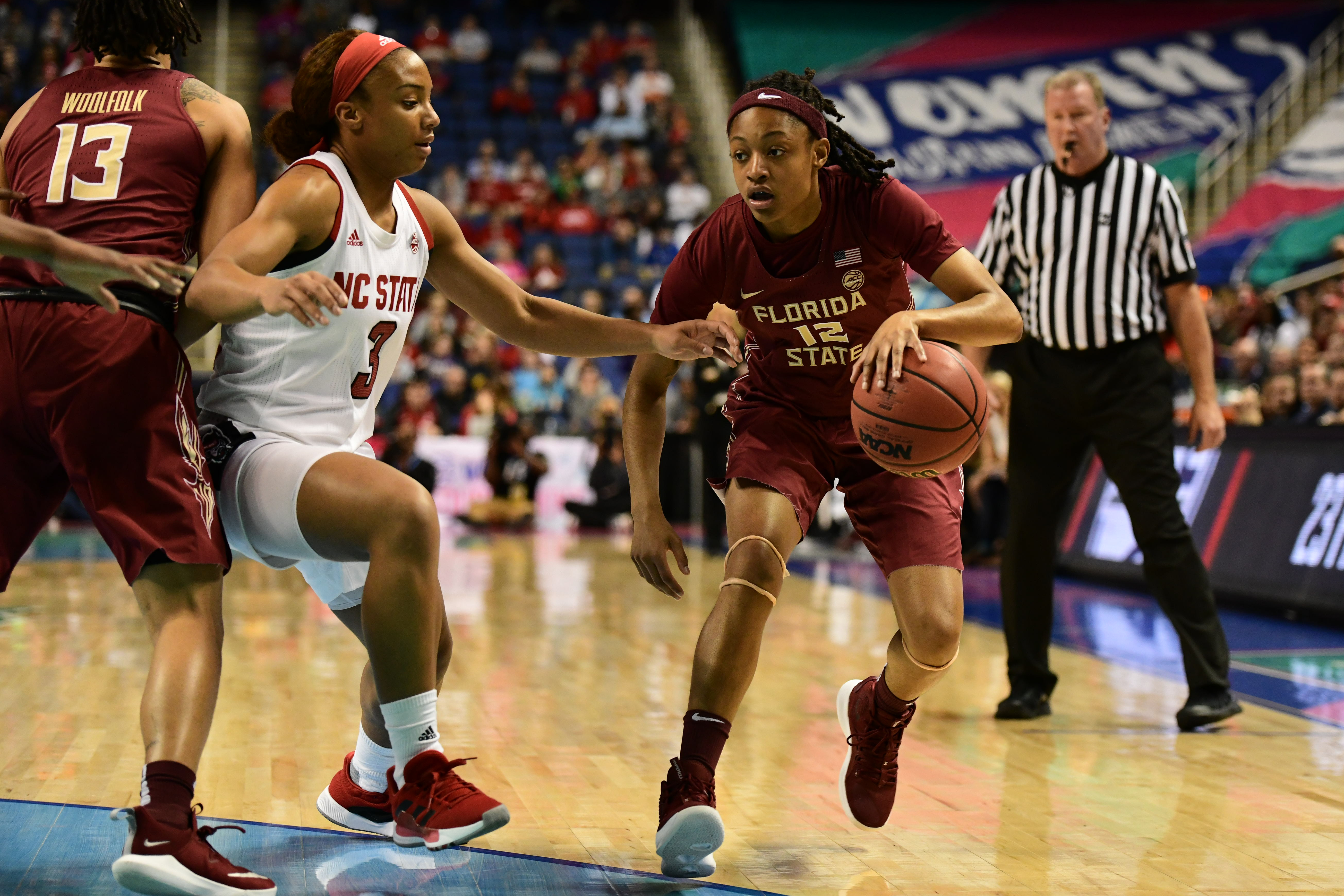 COLLEGE BASKETBALL: MAR 08 ACC Women's Tournament - NC State v Florida State