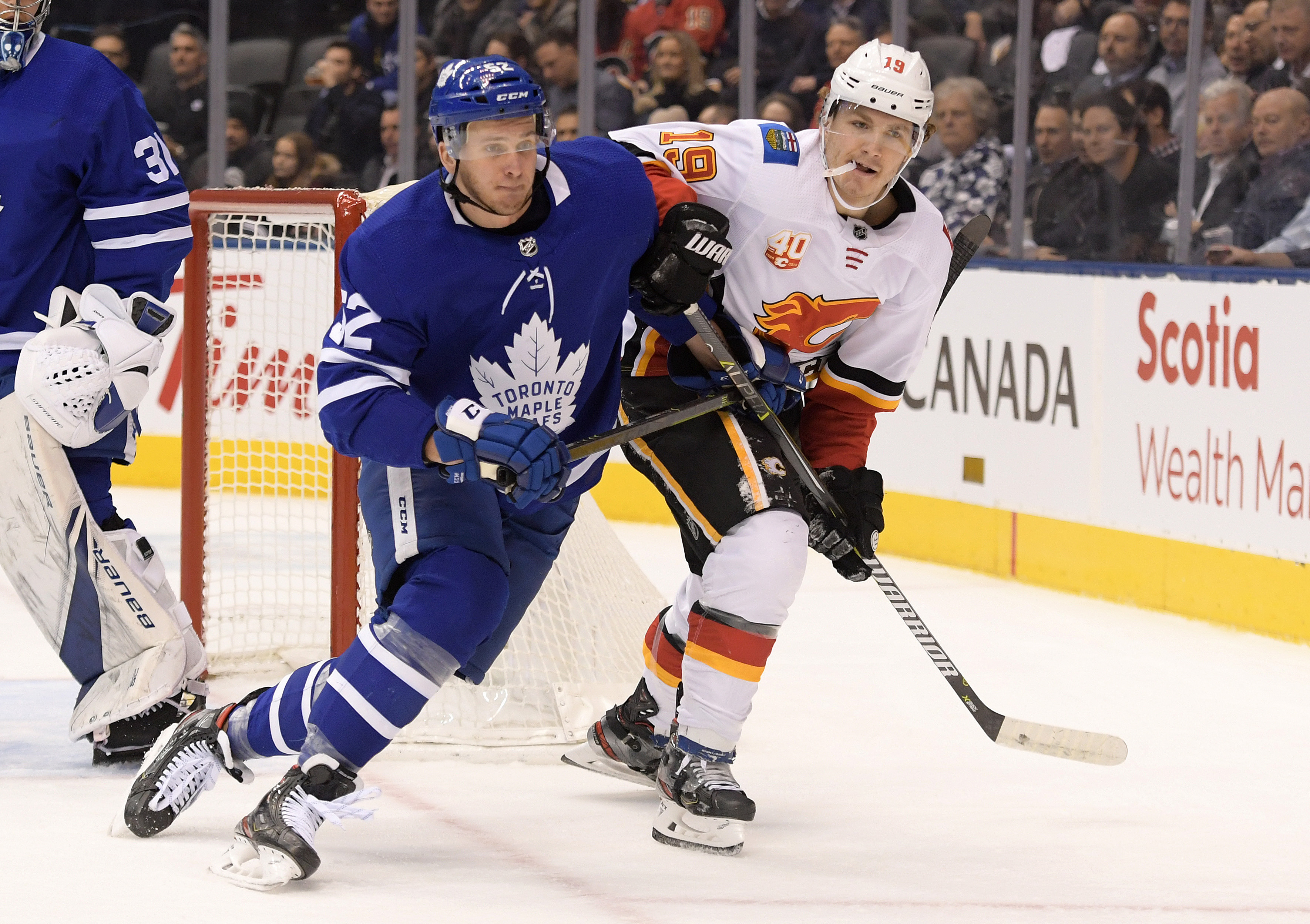 NHL: Calgary Flames at Toronto Maple Leafs