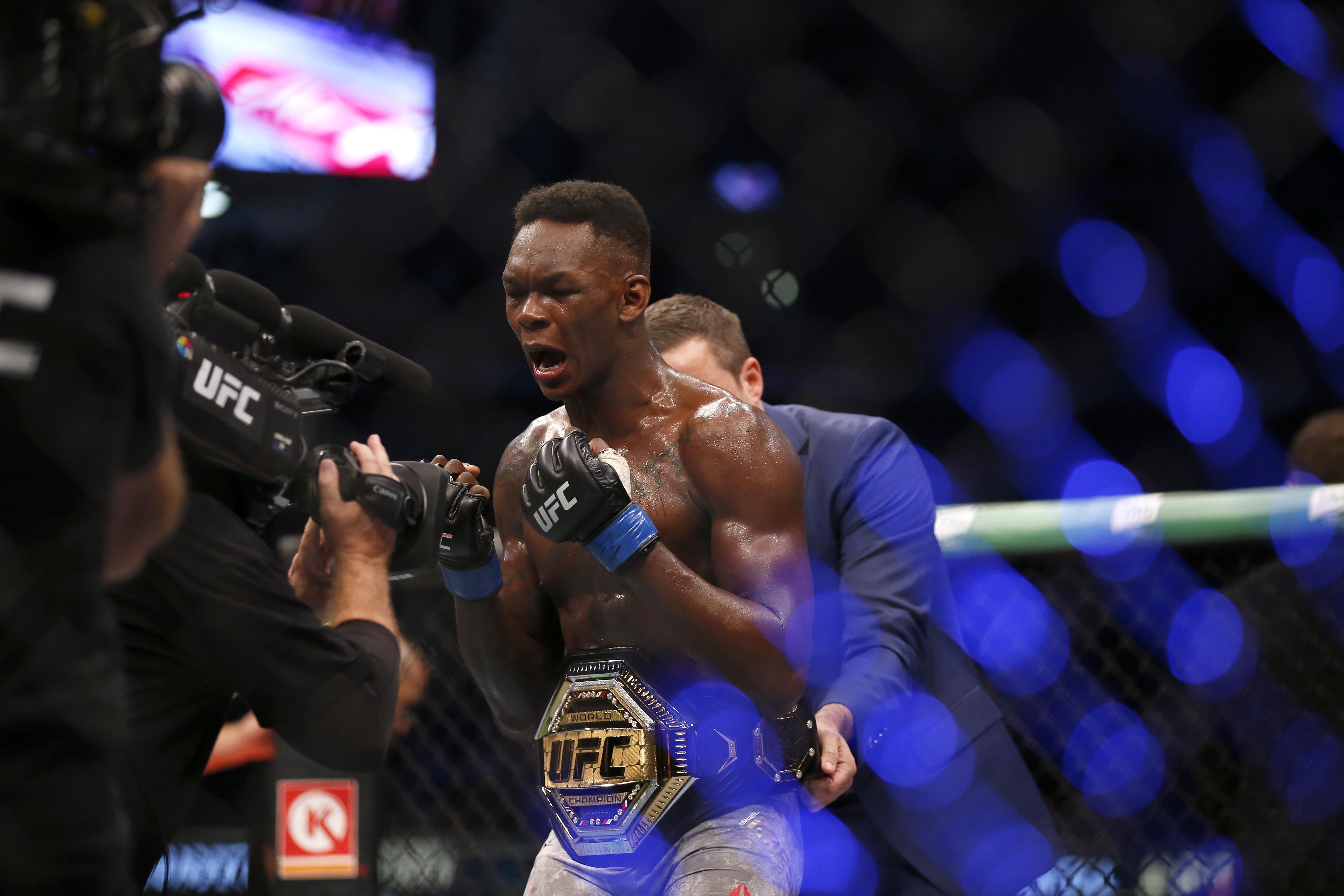UFC 243 Whittaker v Adesanya