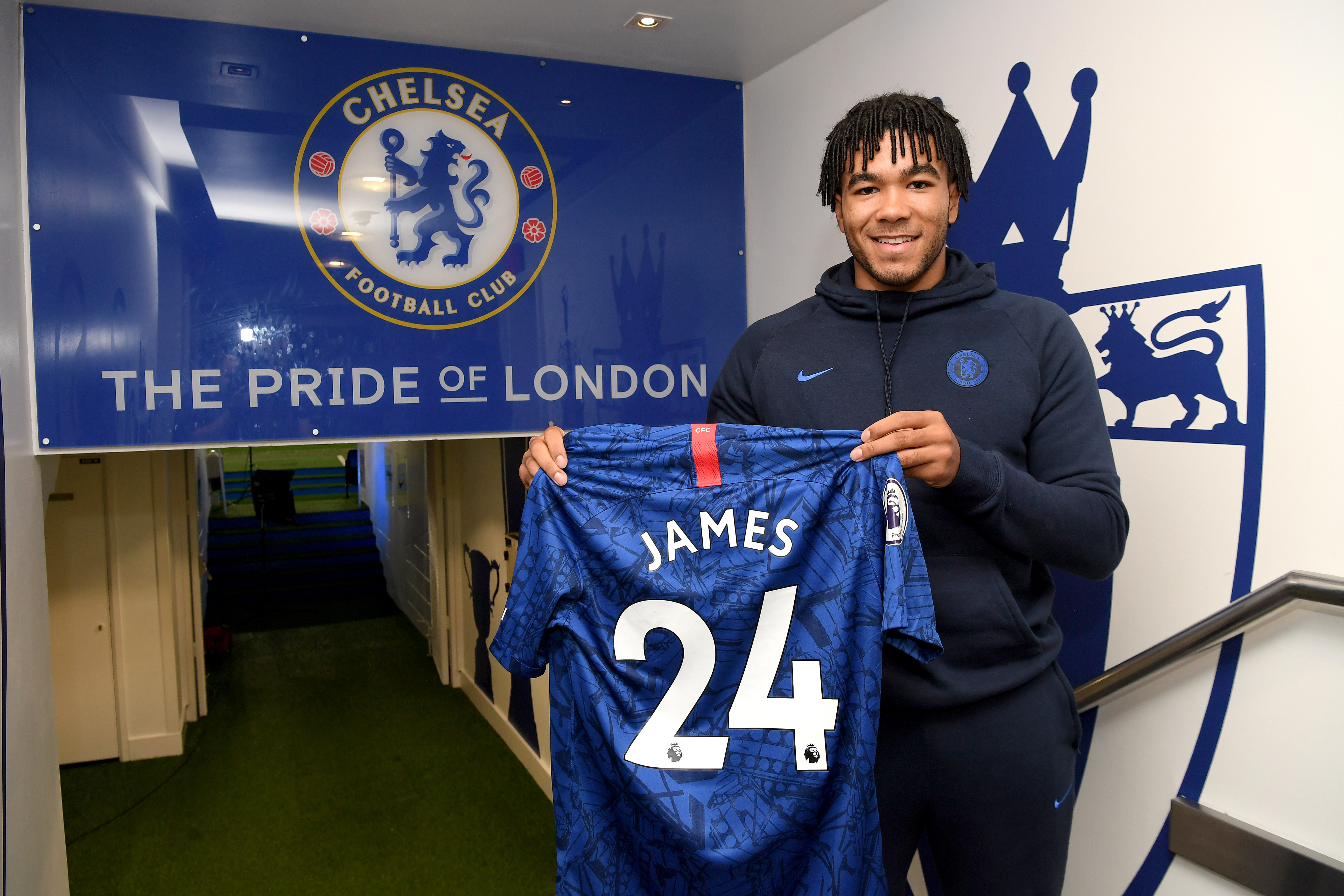 Reece James: 'I would be happy to spend the rest of my career here'