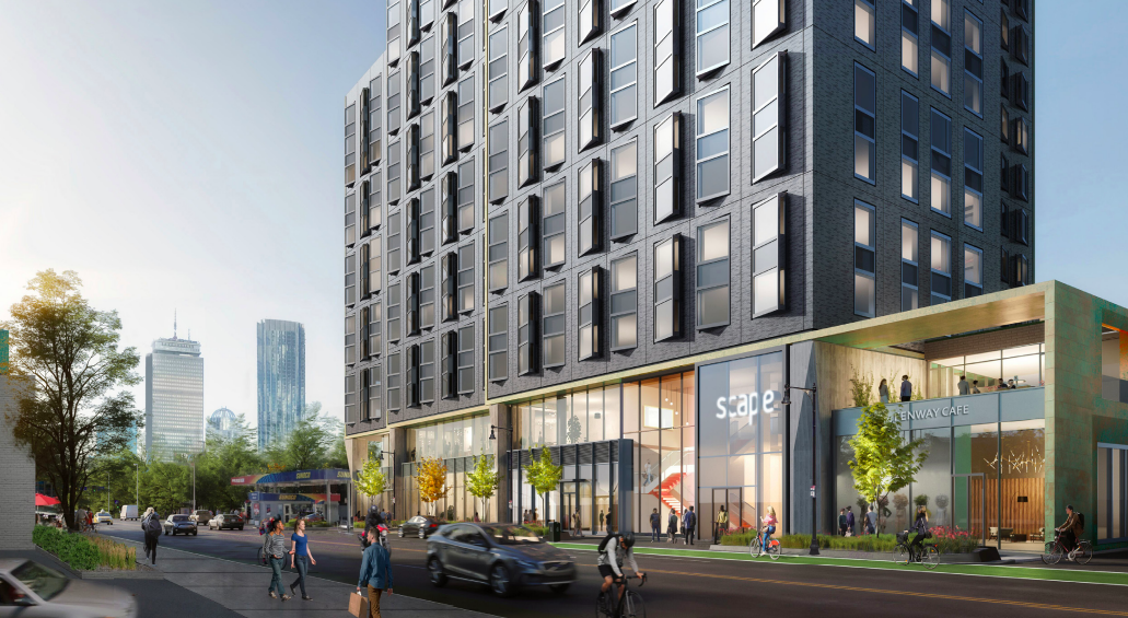 Key approval for Fenway apartment building that was once supposed to be dorms