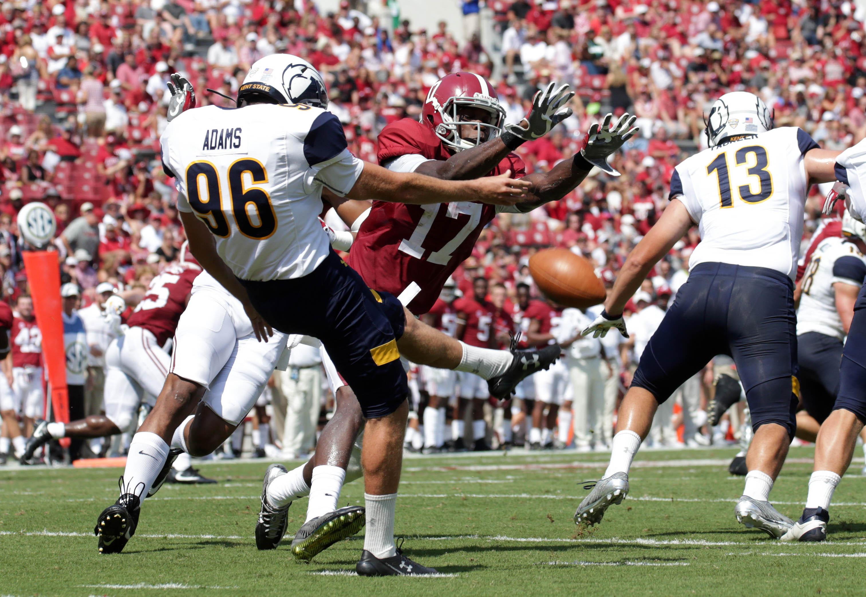 NCAA橄榄球赛:肯特州立大学在阿拉巴马州