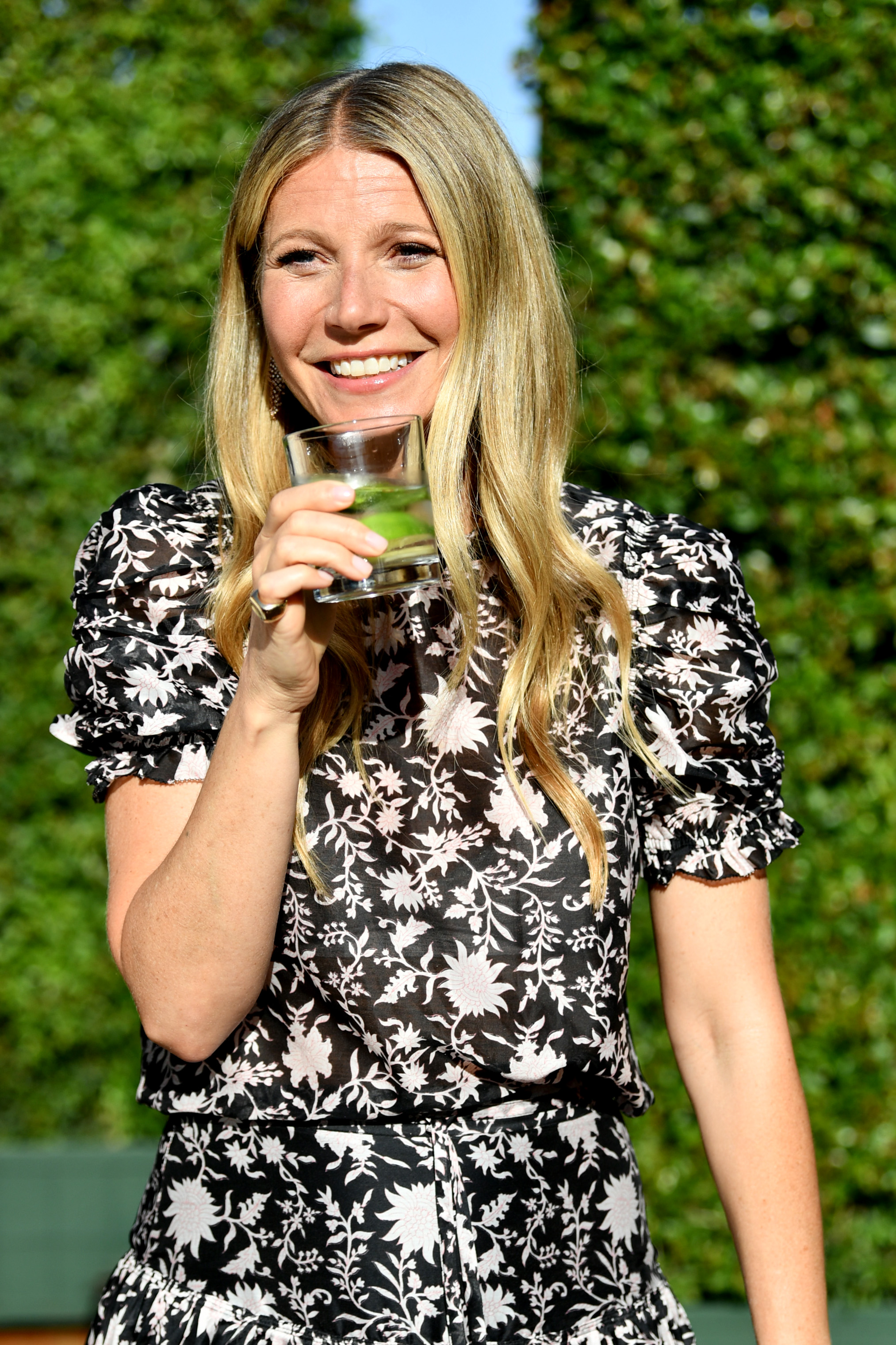 Gwyneth Paltrow attends the In goop Health Summit at 3Labs in 2018 in Culver City, California.