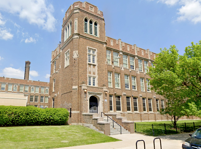 """Steinmetz College Prep was placed on lockdown Jan. 17, 2020, for a """"suspicious person"""" who wasn't allowed in the Northwest Side school."""