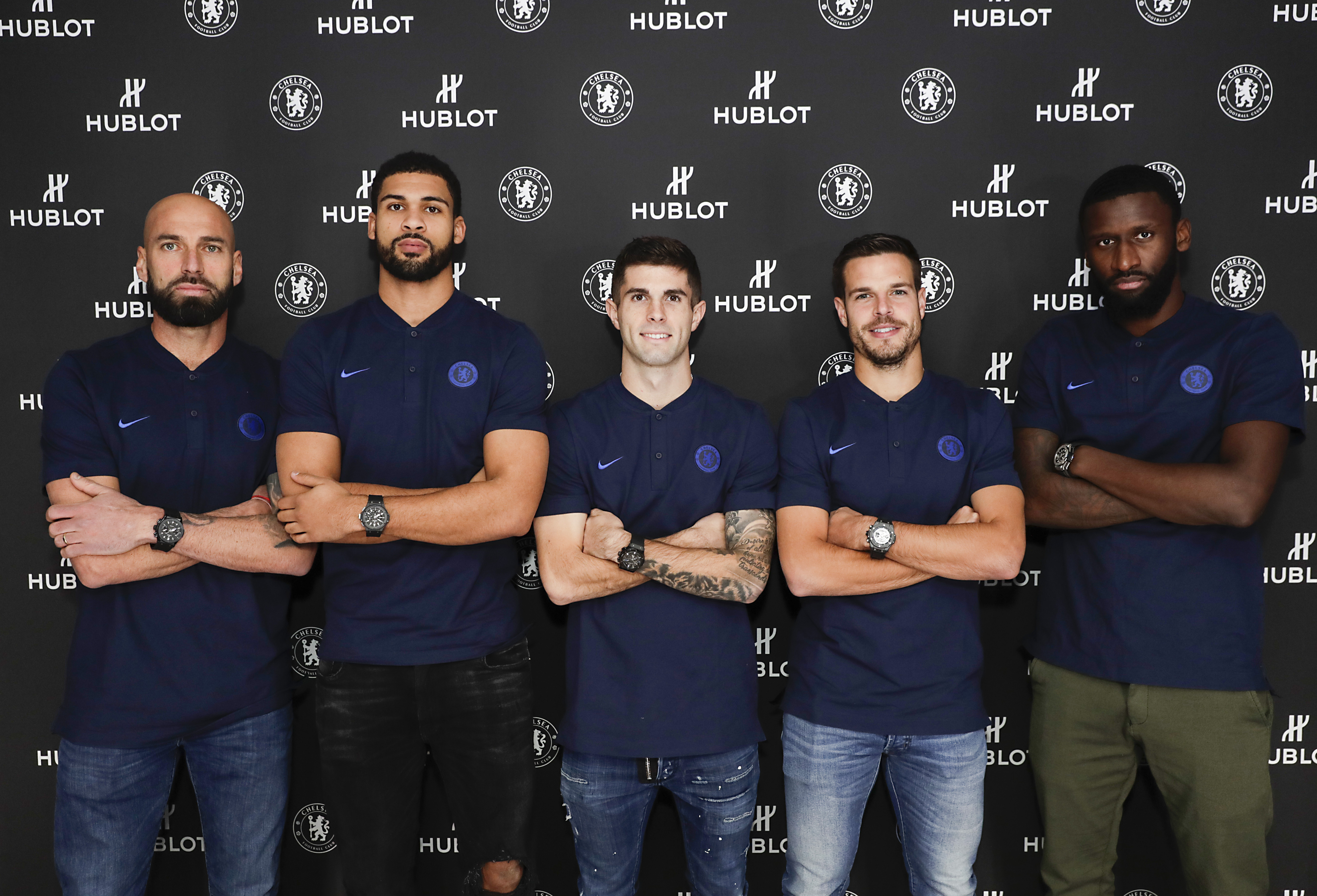 Hublot And Chelsea FC Celebrate Partnership And Launch Classic Fusion Chronograph Chelsea FC