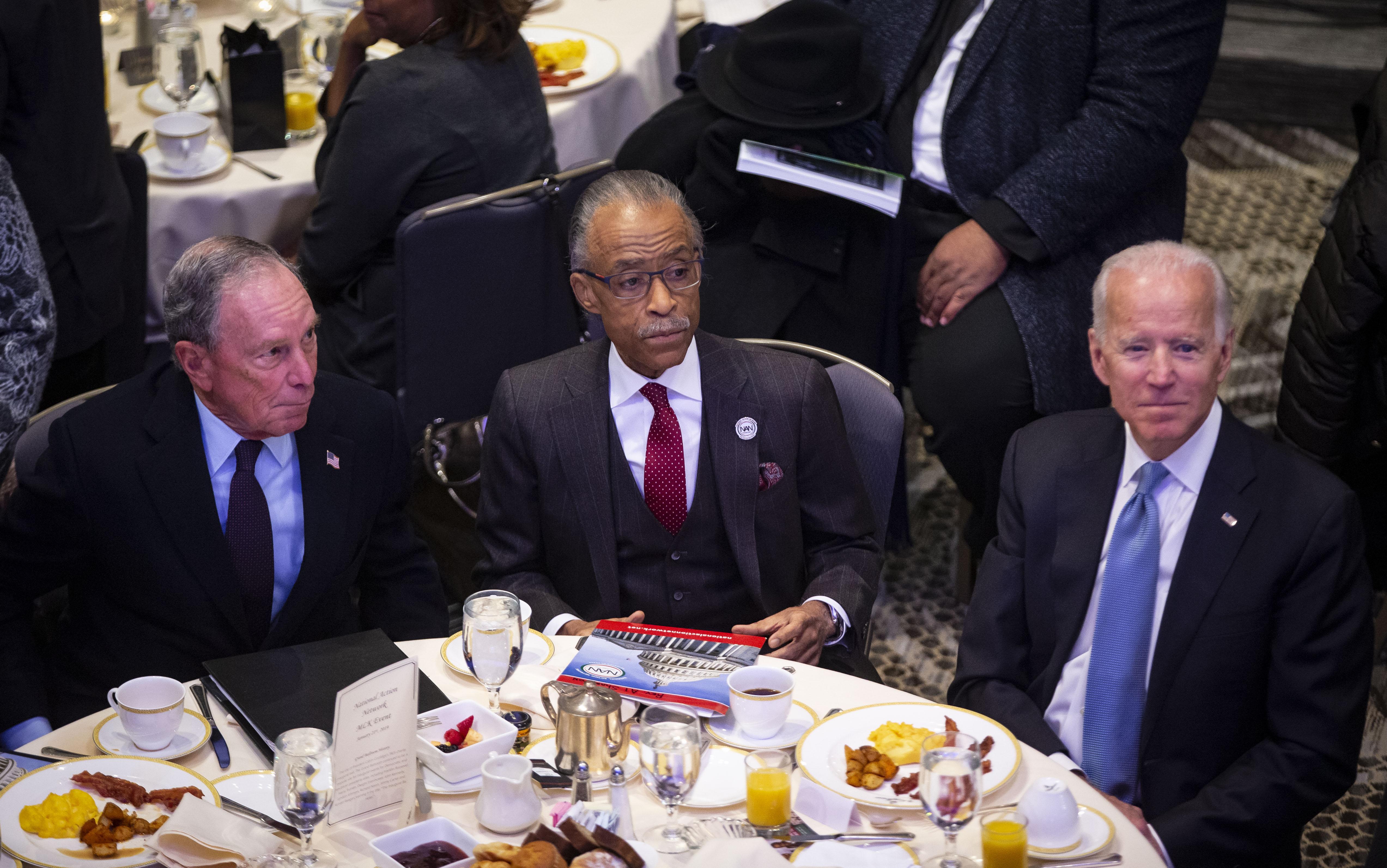 "Mike Bloomberg throws shade at Joe Biden as a looming ""lame duck"""