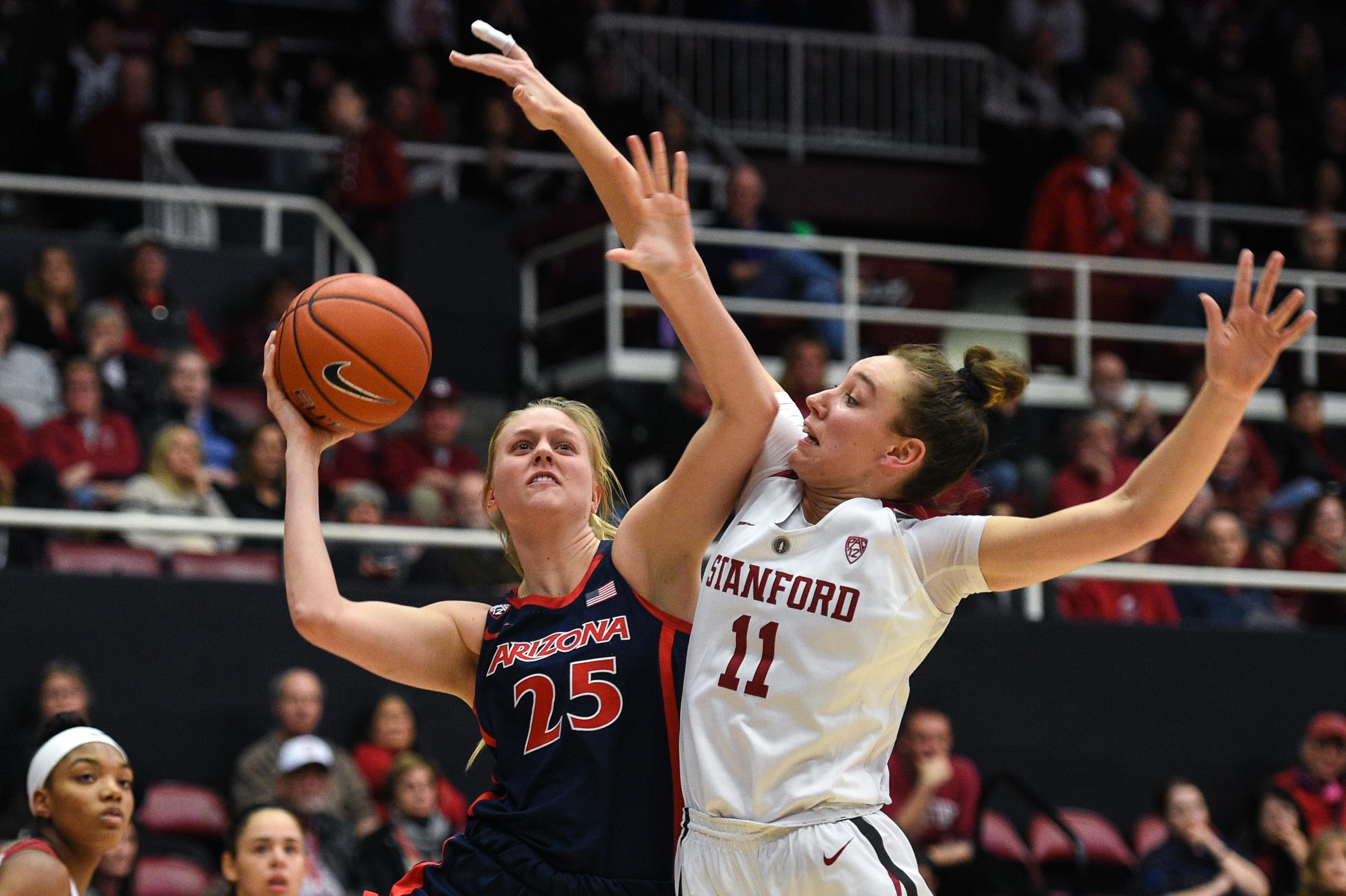 COLLEGE BASKETBALL: FEB 22 Women's Arizona at Stanford