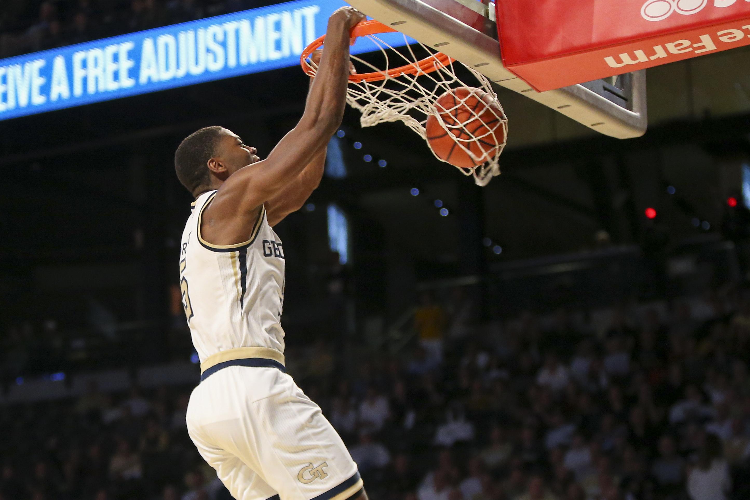 NCAA Basketball: Notre Dame at Georgia Tech