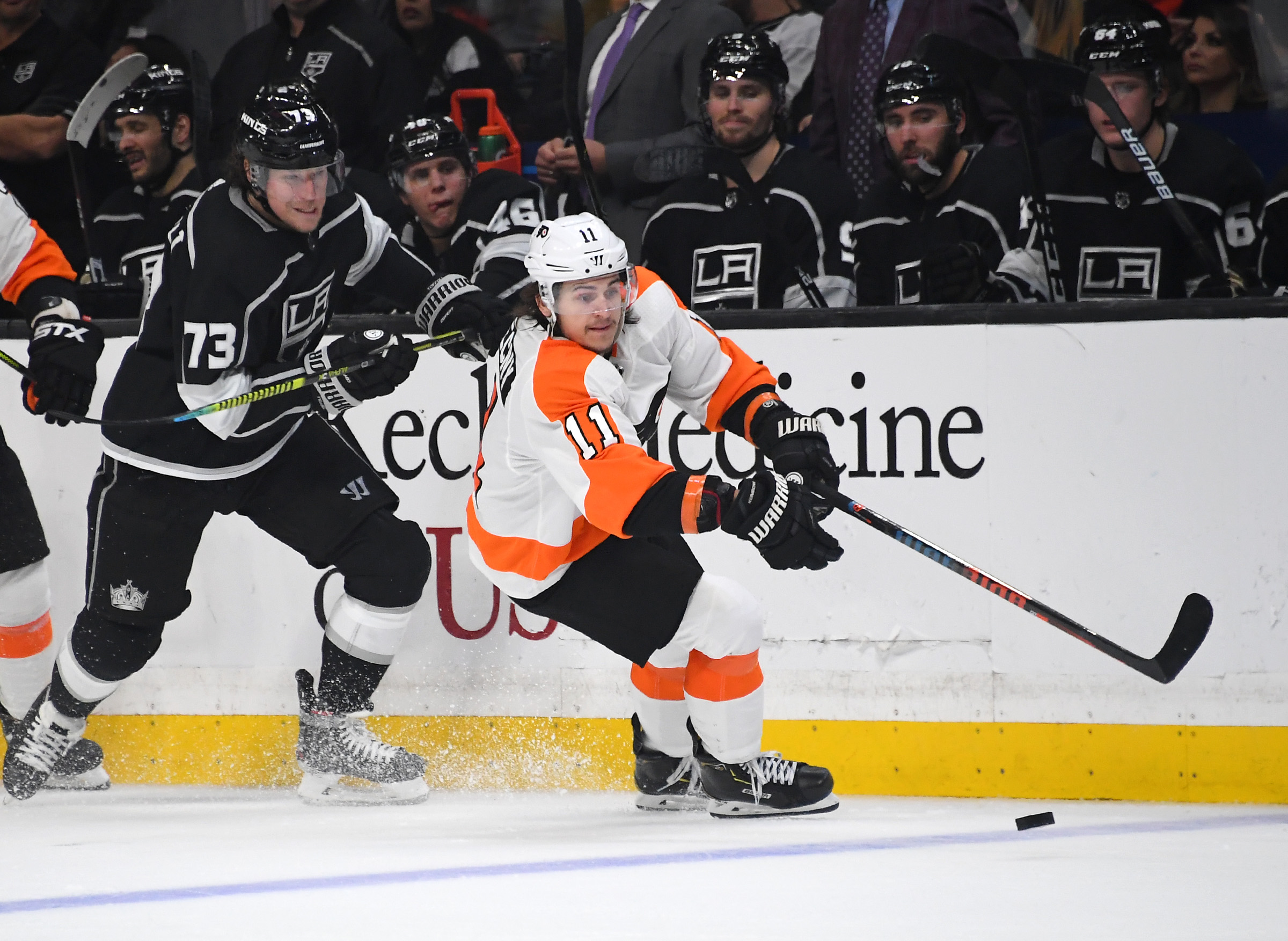NHL: Philadelphia Flyers at Los Angeles Kings