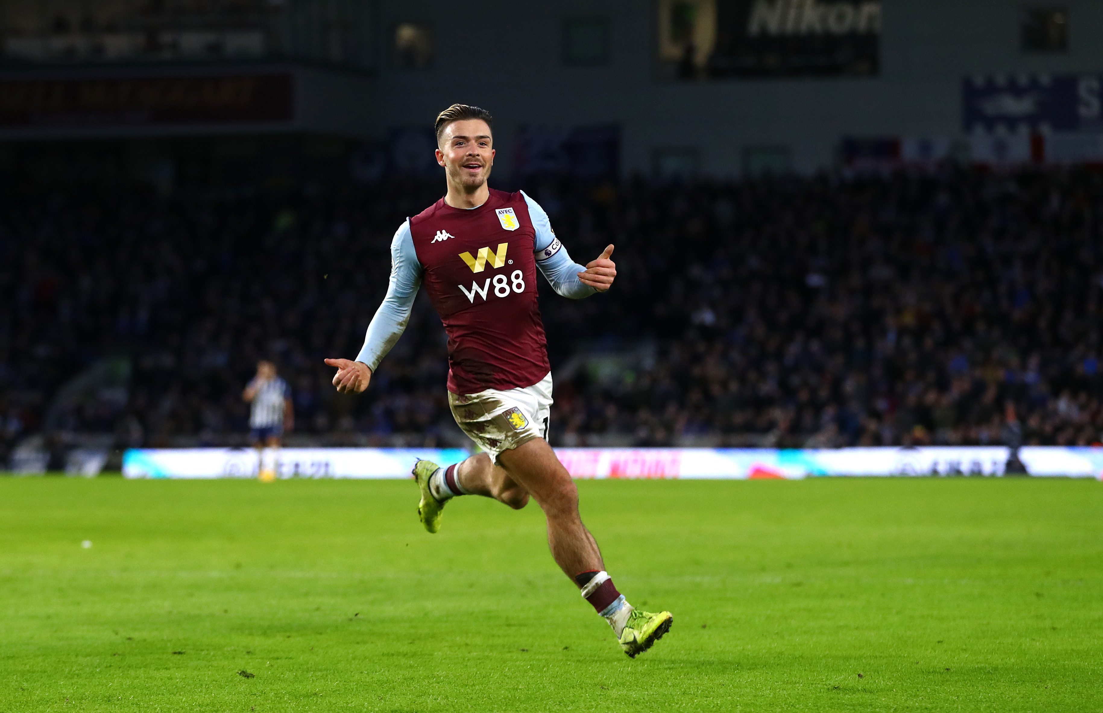 Brighton 1, Villa 1: Claret and Blues fight back to earn a point on the South Coast