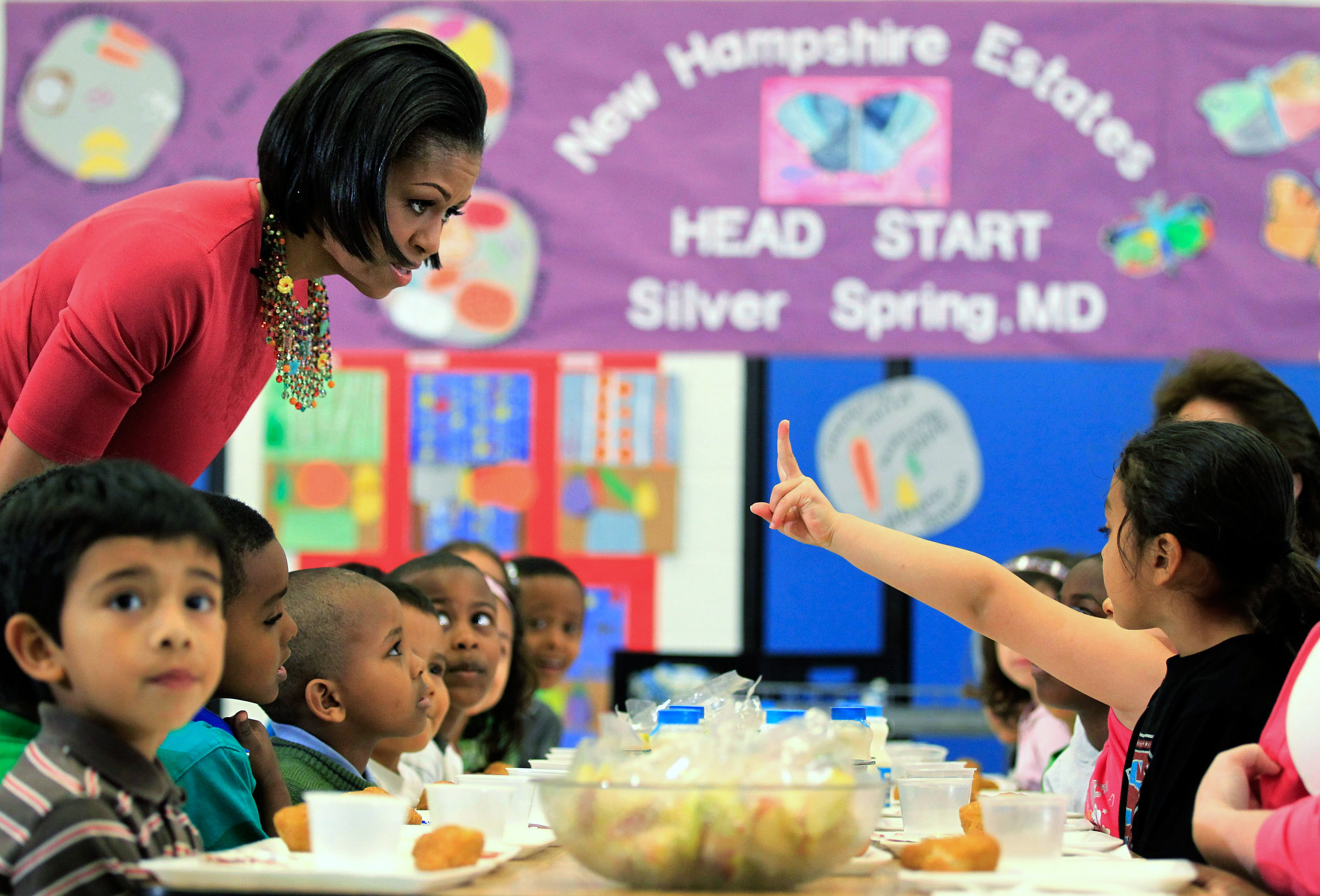 The Trump administration wants to weaken Obama's healthy school lunch rules. Again.