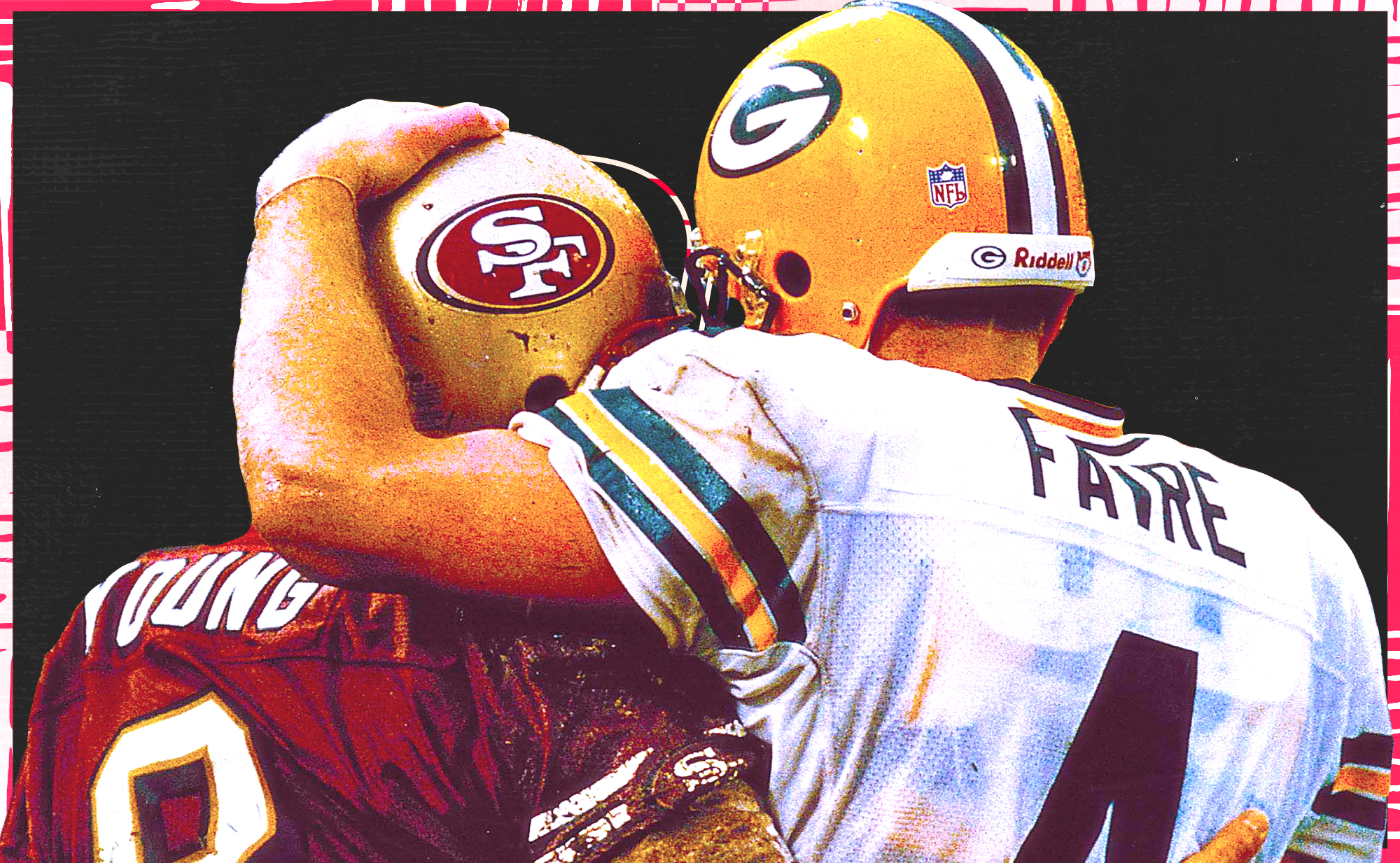 A look back at the intense playoff history between the 49ers and Packers