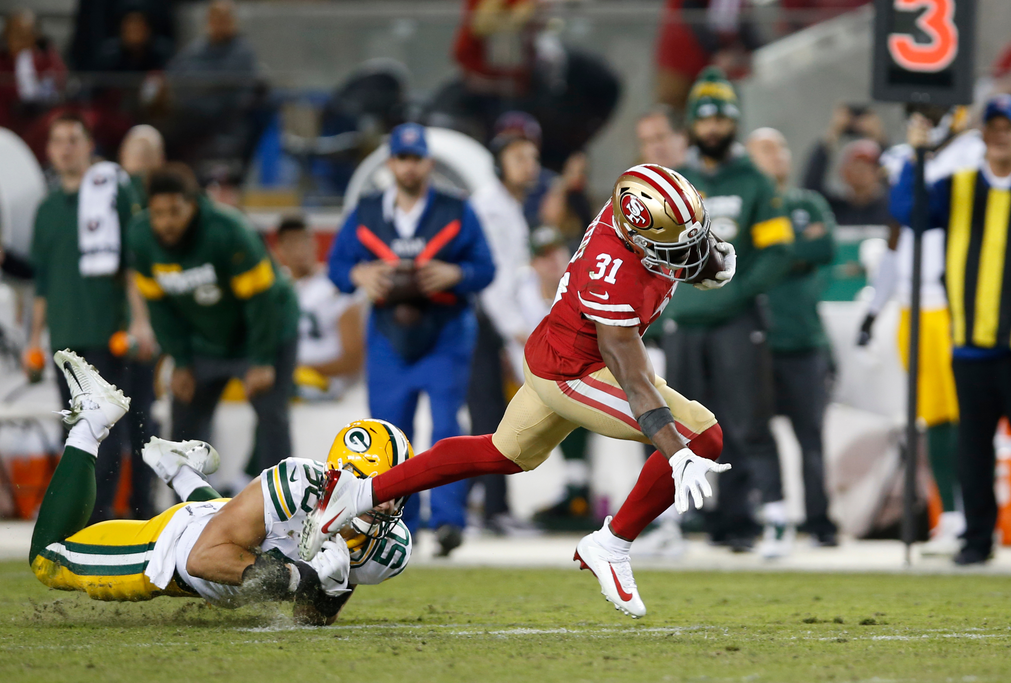 Green Bay Packers v San Francisco 49er