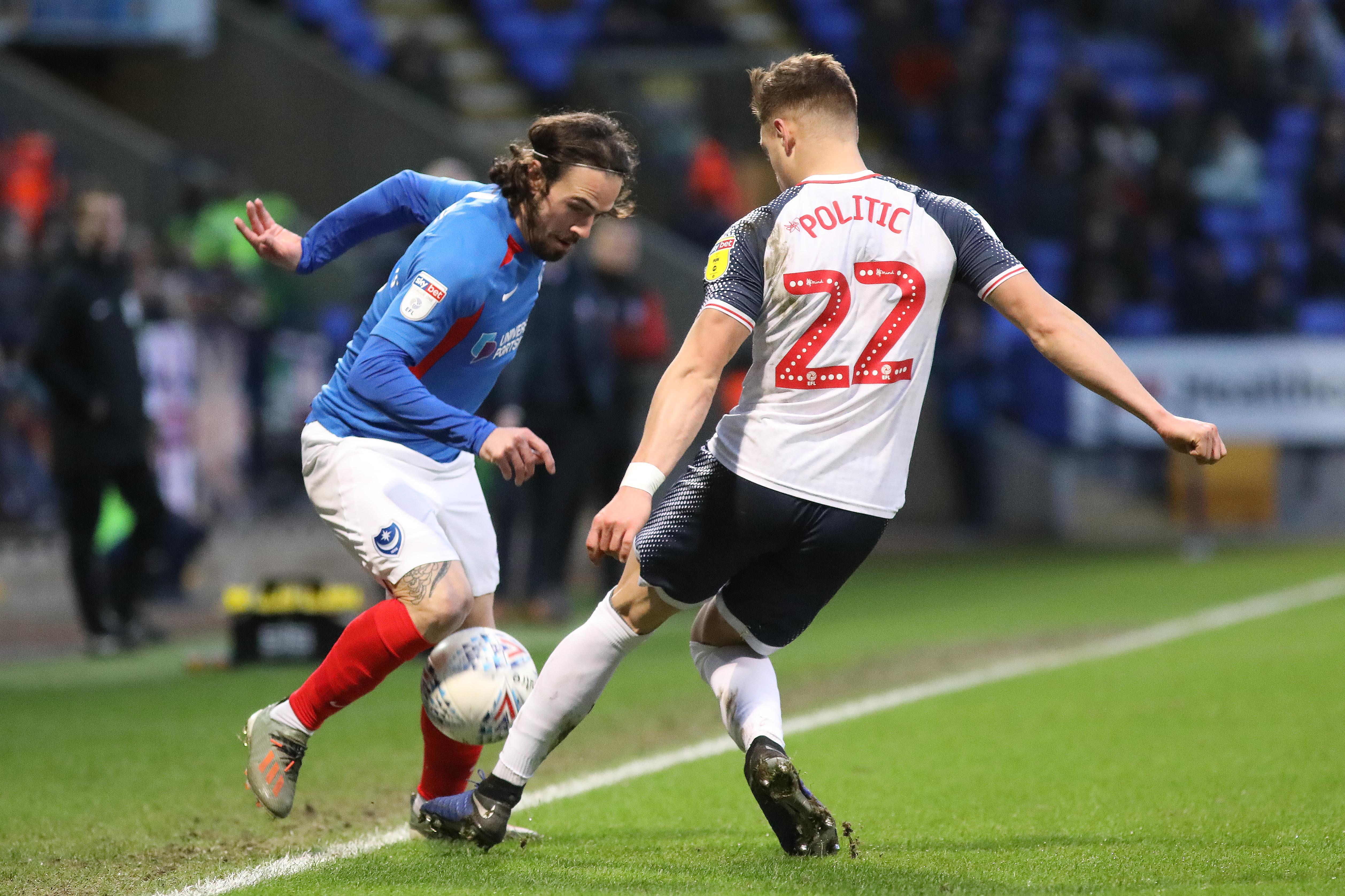 Bolton Wanderers v Portsmouth - Sky Bet League One
