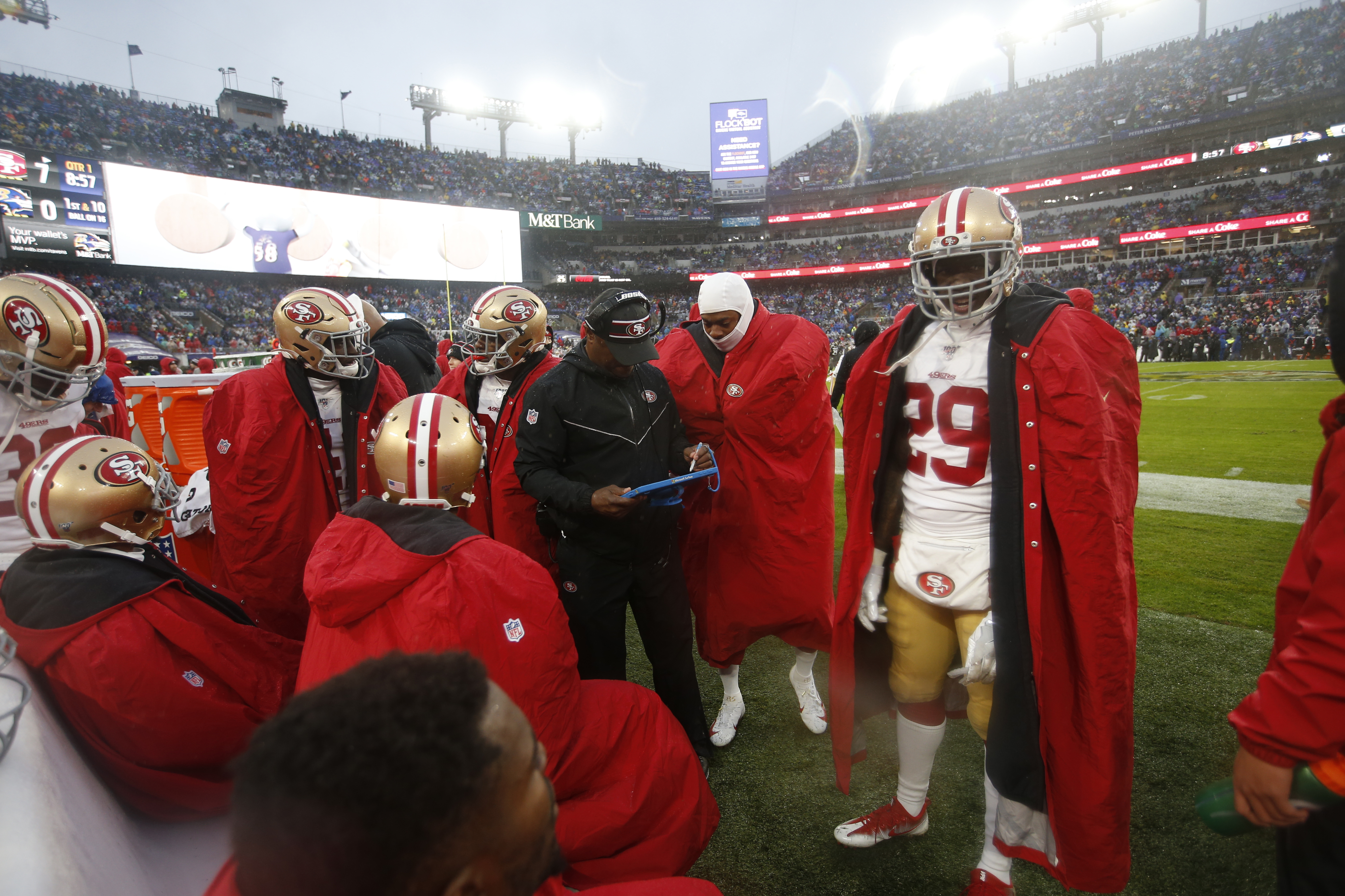 San Francisco 49ers v Baltimore Ravens