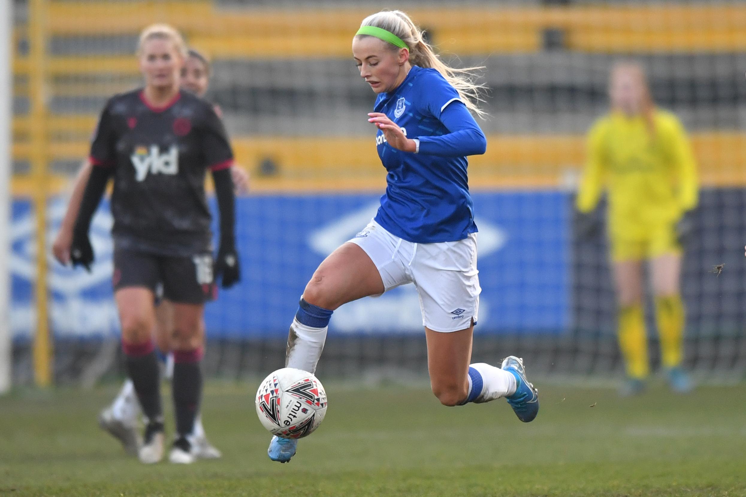 Everton v Reading - FA Women's Super League - Haig Avenue