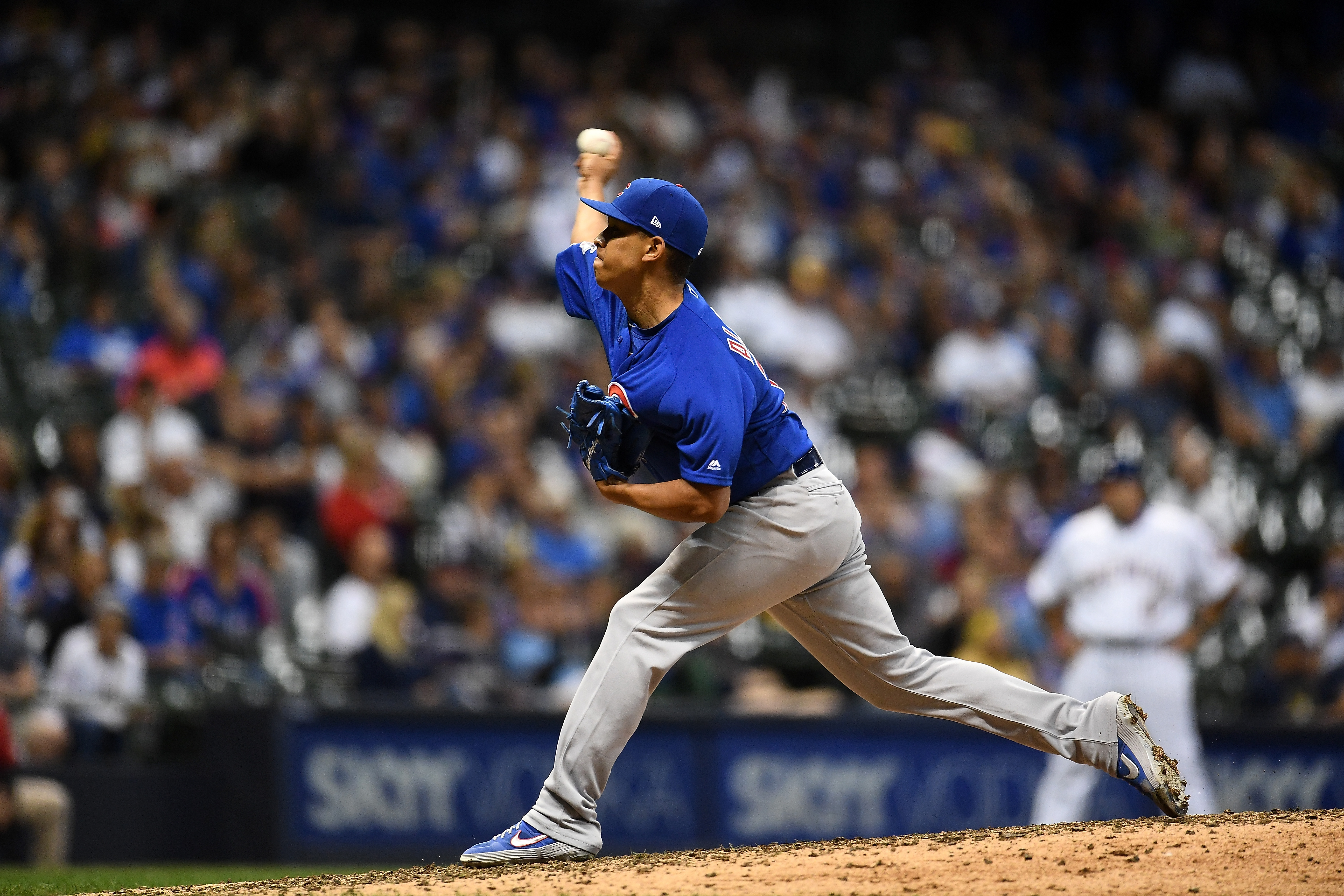 After making his major-league debut last season, Adbert Alzolay believe he has a realistic shot at starting this season with the Cubs.