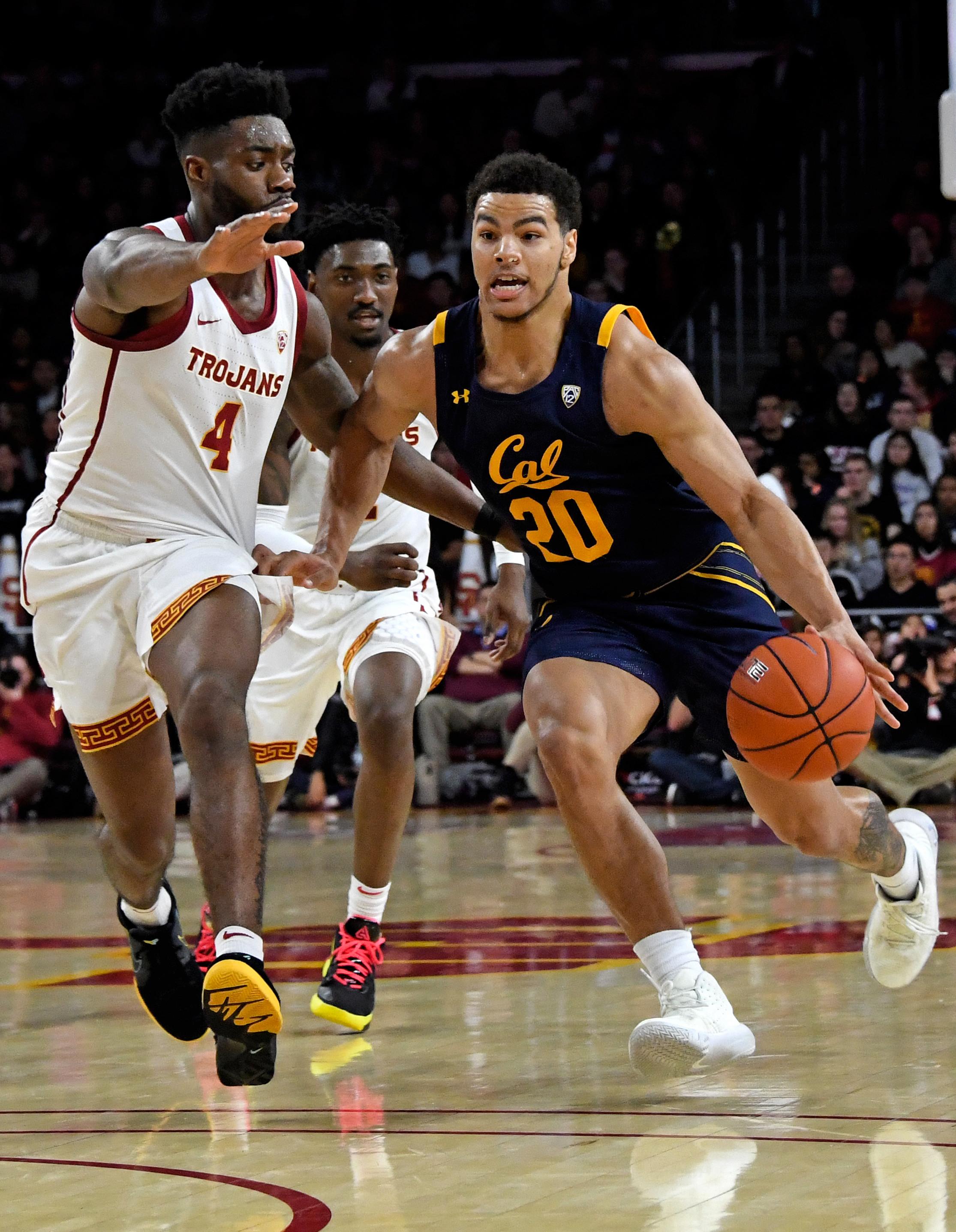 NCAA Basketball: California at Southern California
