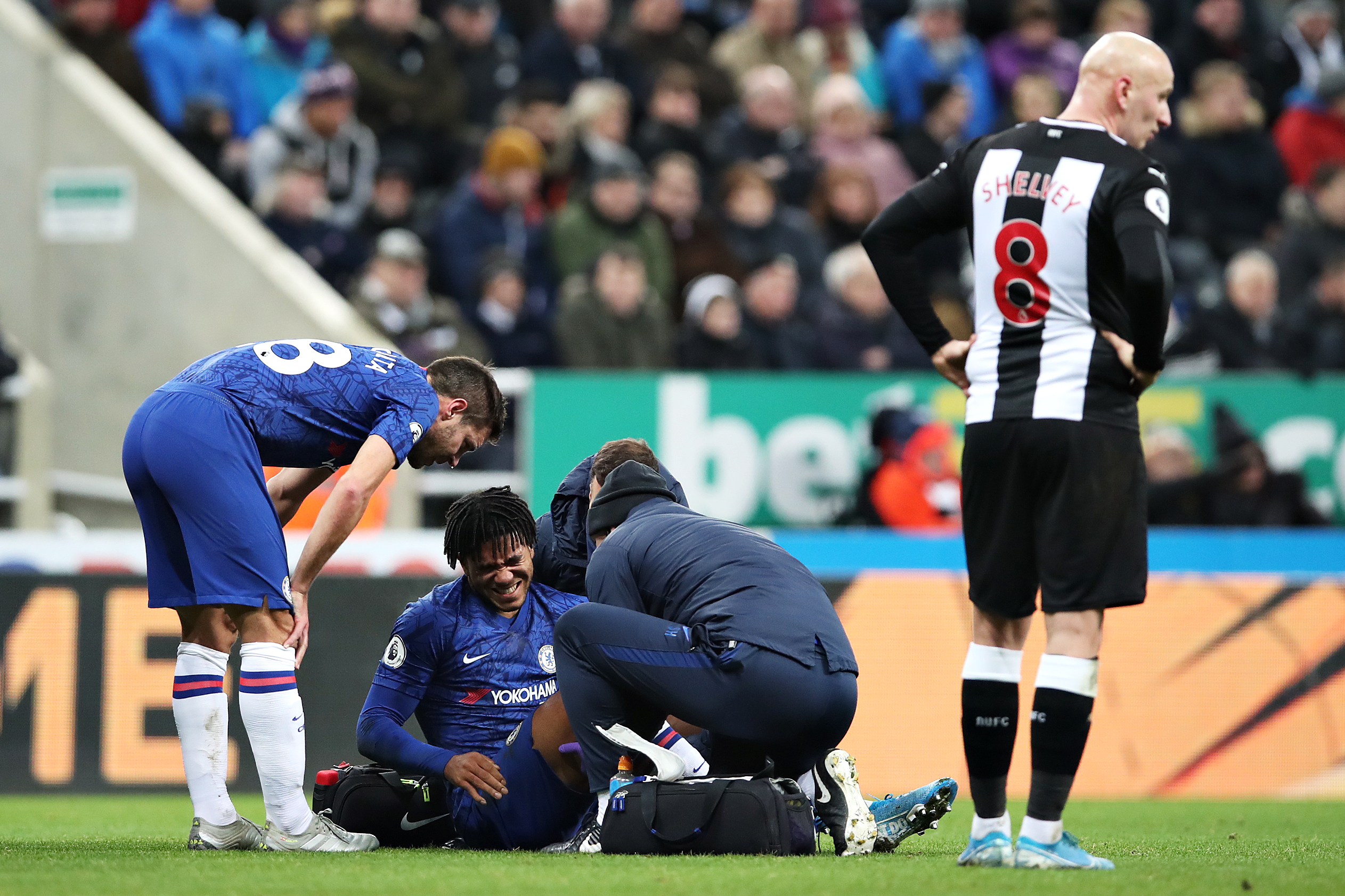 Newcastle United 1-0 Chelsea, Player Ratings: Reece James the only good thing and even he got injured