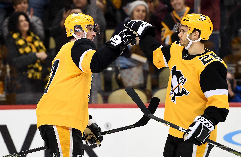 NHL: JAN 19 Bruins at Penguins