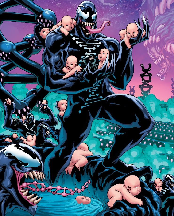 Venom made an army of babies to save the universe