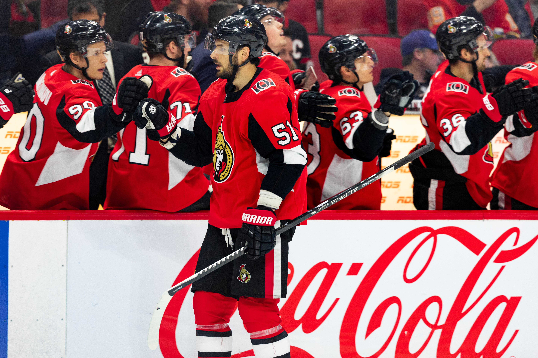 NHL: JAN 18 Flames at Senators