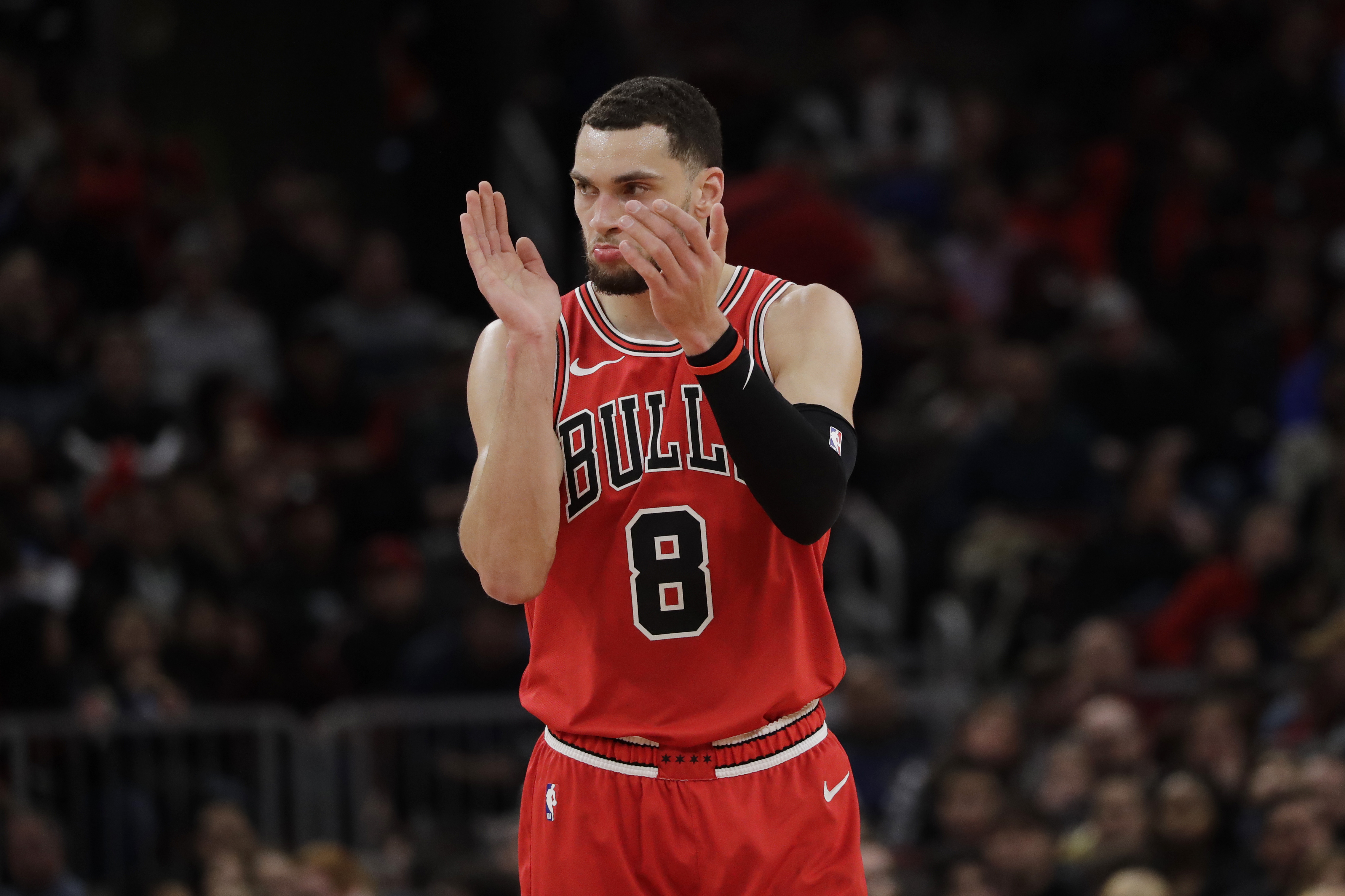 """""""Like I said, I'd rather be in the [All-Star Game] than be in the dunk contest,"""" the Bulls' Zach LaVine said. """"I think I've shown everything I can dunking."""""""