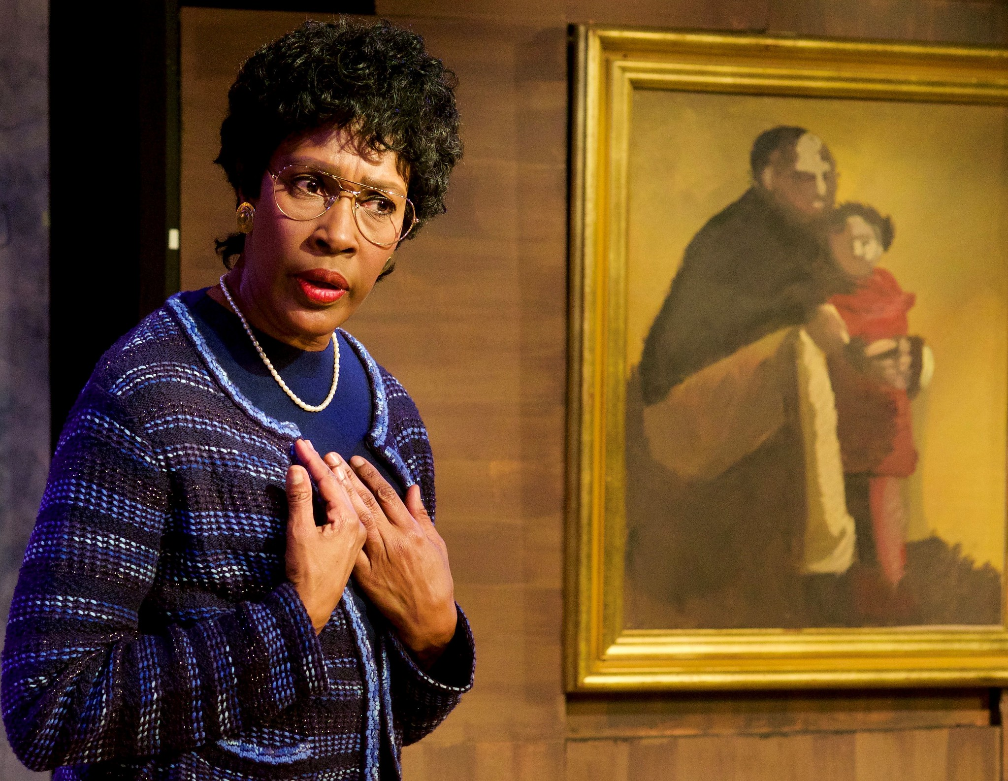 """Andrea Conway-Diaz delivers a powerhouse performance as Congresswoman Barbara Jordan in """"Voice of Good Hope."""""""